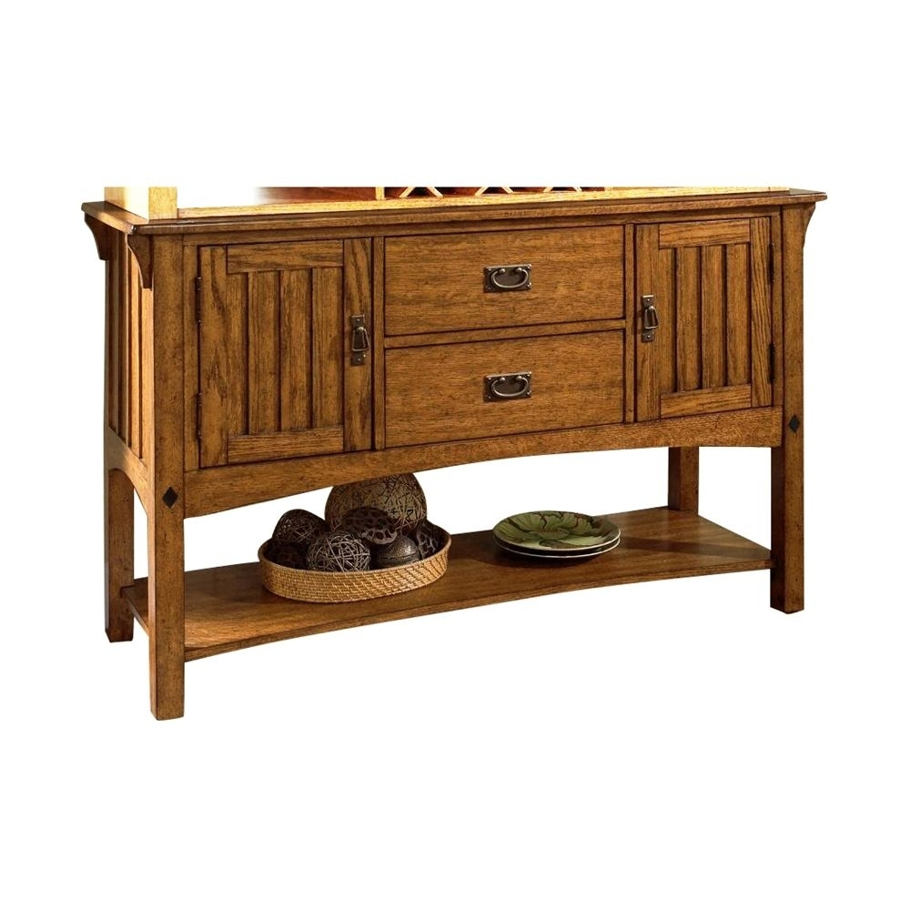 Shop Somerton Dwelling 417-73 Craftsman Server At The Mine. Browse in Craftsman Sideboards (Image 23 of 30)