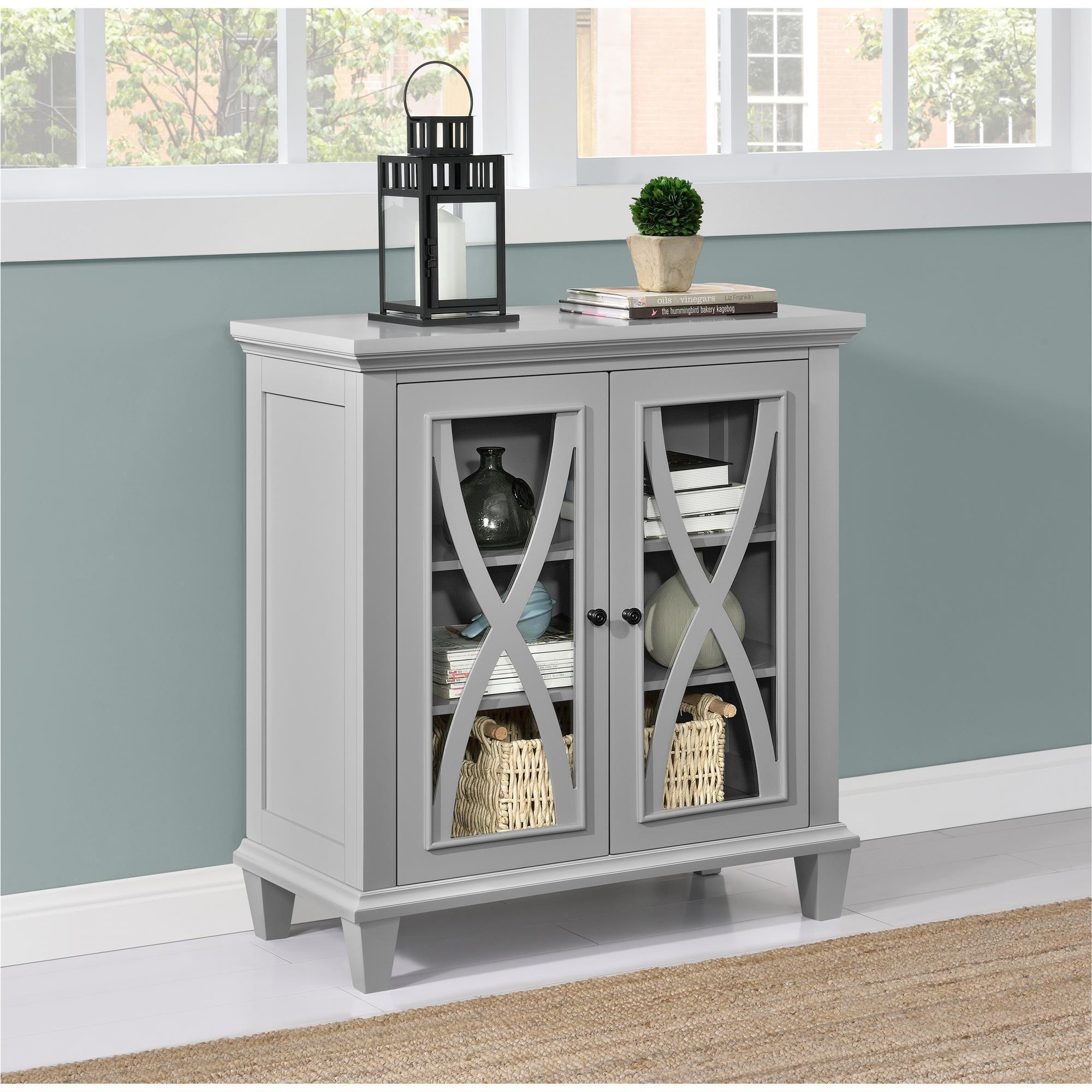 Shop The Gray Barn Chestnut Grove Accent Cabinet – On Sale – Free With Oil Pale Finish 3 Door Sideboards (View 22 of 30)