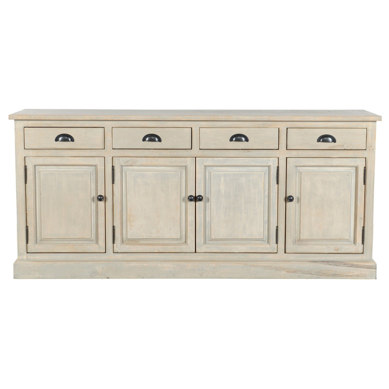 Shop Wilson Reclaimed Wood 79-Inch Sideboardkosas Home - Free for Reclaimed Pine Turquoise 4-Door Sideboards (Image 24 of 30)