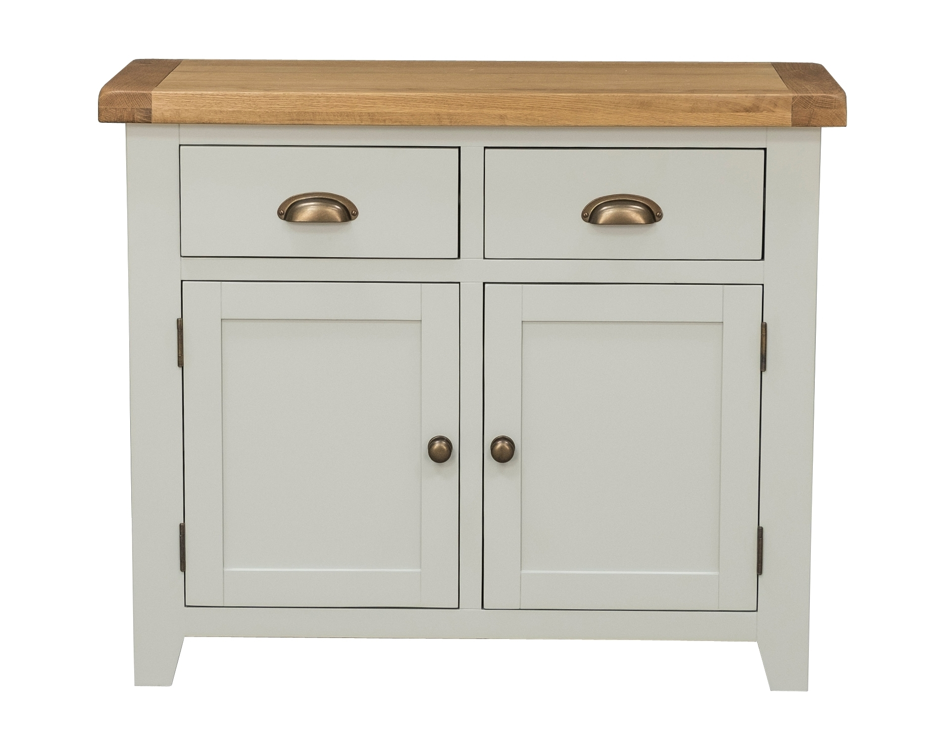 Sideboard 2 Door 2 Drawer - Grey Painted - Sideboards - Furniture World throughout Tobias 4 Door Sideboards (Image 16 of 30)