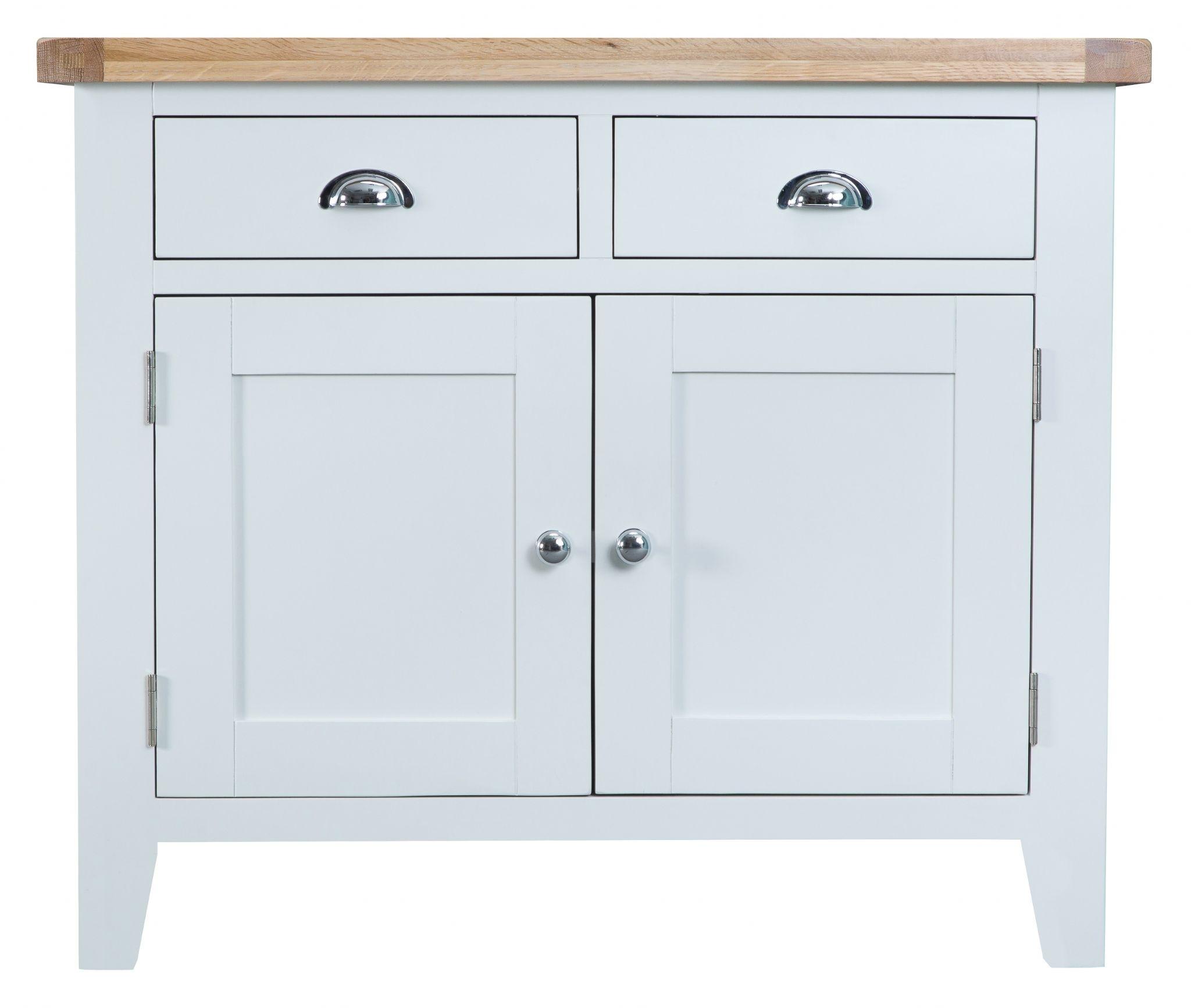 Sideboard - 2 Door 2 Drawer with regard to White Wash 2-Door Sideboards (Image 18 of 30)