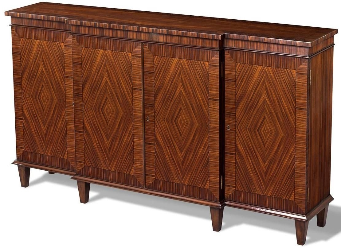 Sideboard Scarborough House Stunning Rosewood, Cutlery Drawer, 4 inside Parrish Sideboards (Image 20 of 30)