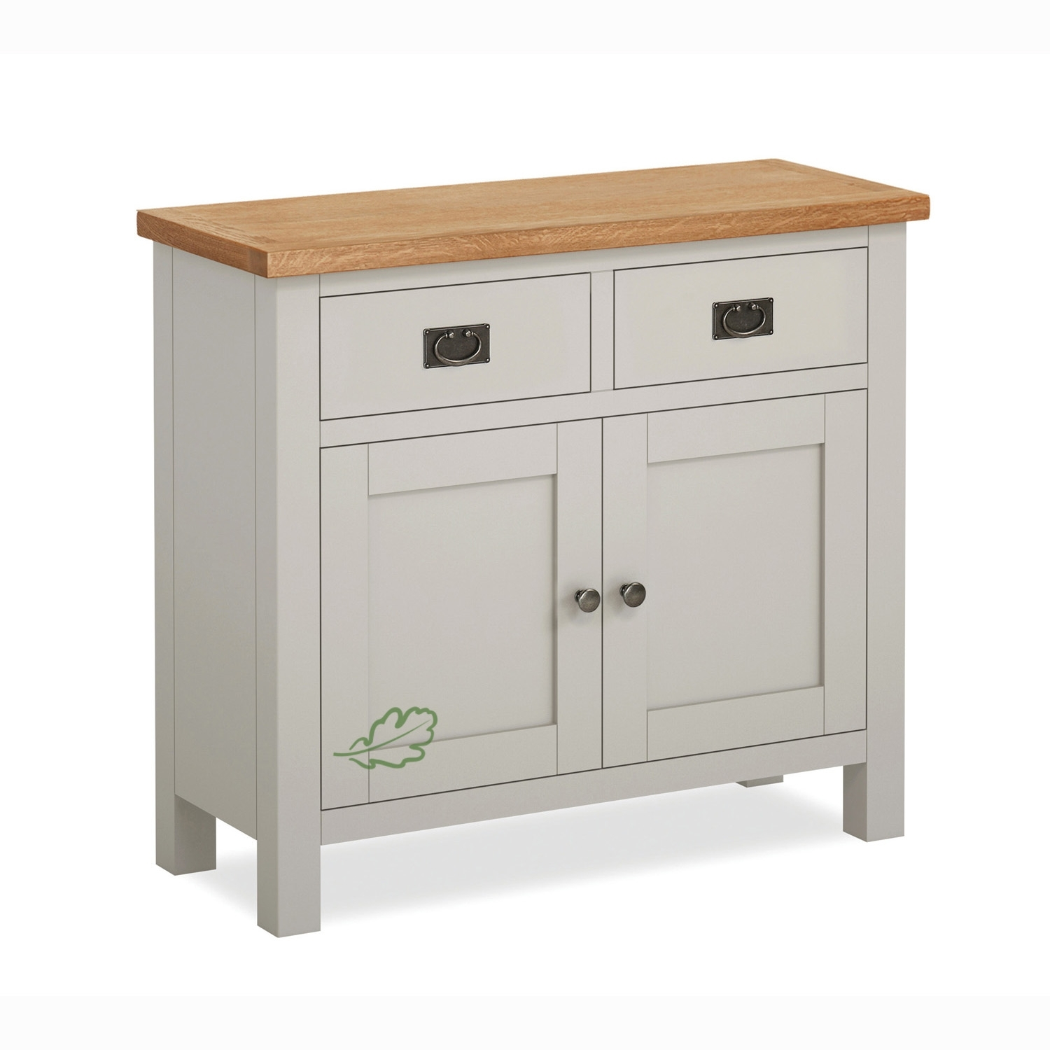 Sideboards Archives - Cumbria Oak with White Wash 2-Door Sideboards (Image 20 of 30)