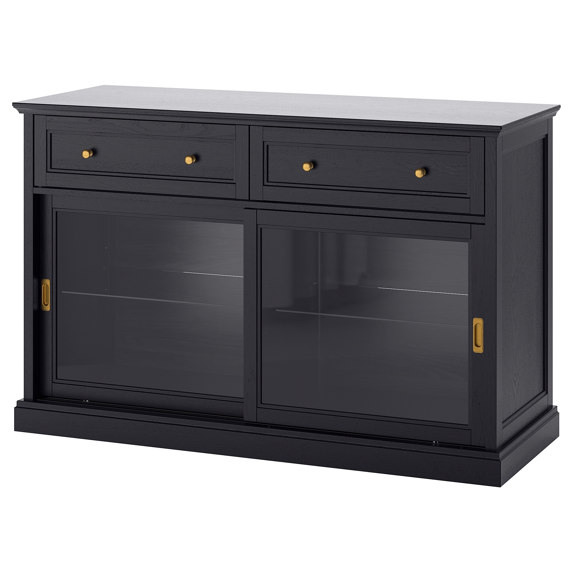 Sideboards & Buffet Cabinets | Ikea for Open Shelf Brass 4-Drawer Sideboards (Image 18 of 30)