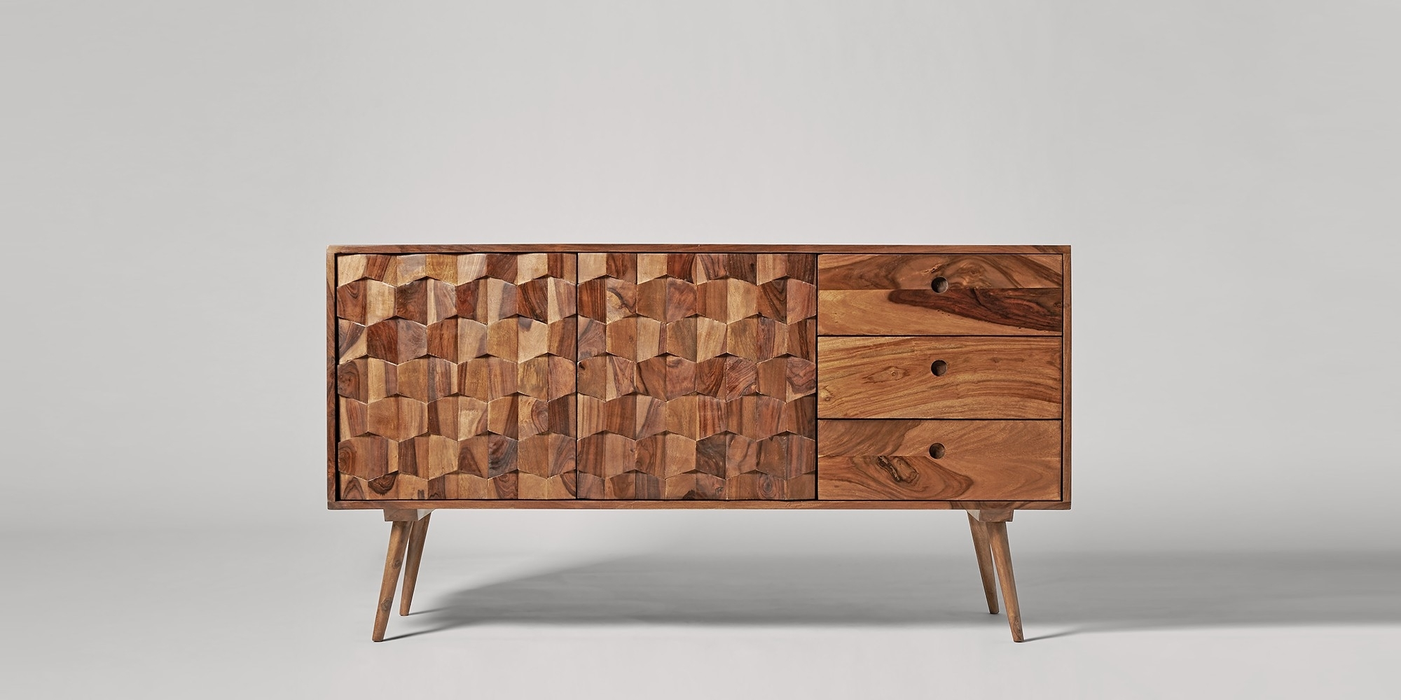 Sideboards | Buffets & Credenzas | Swoon | Swoon pertaining to Starburst 3 Door Sideboards (Image 24 of 30)