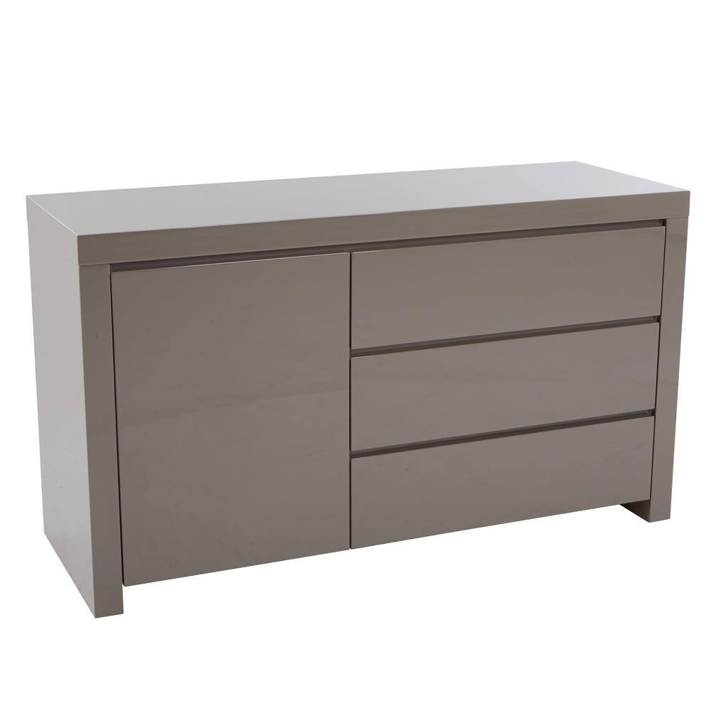 Sideboards | Contemporary Dining Room Furniture From Dwell with Walnut Finish 2-Door/3-Drawer Sideboards (Image 25 of 30)