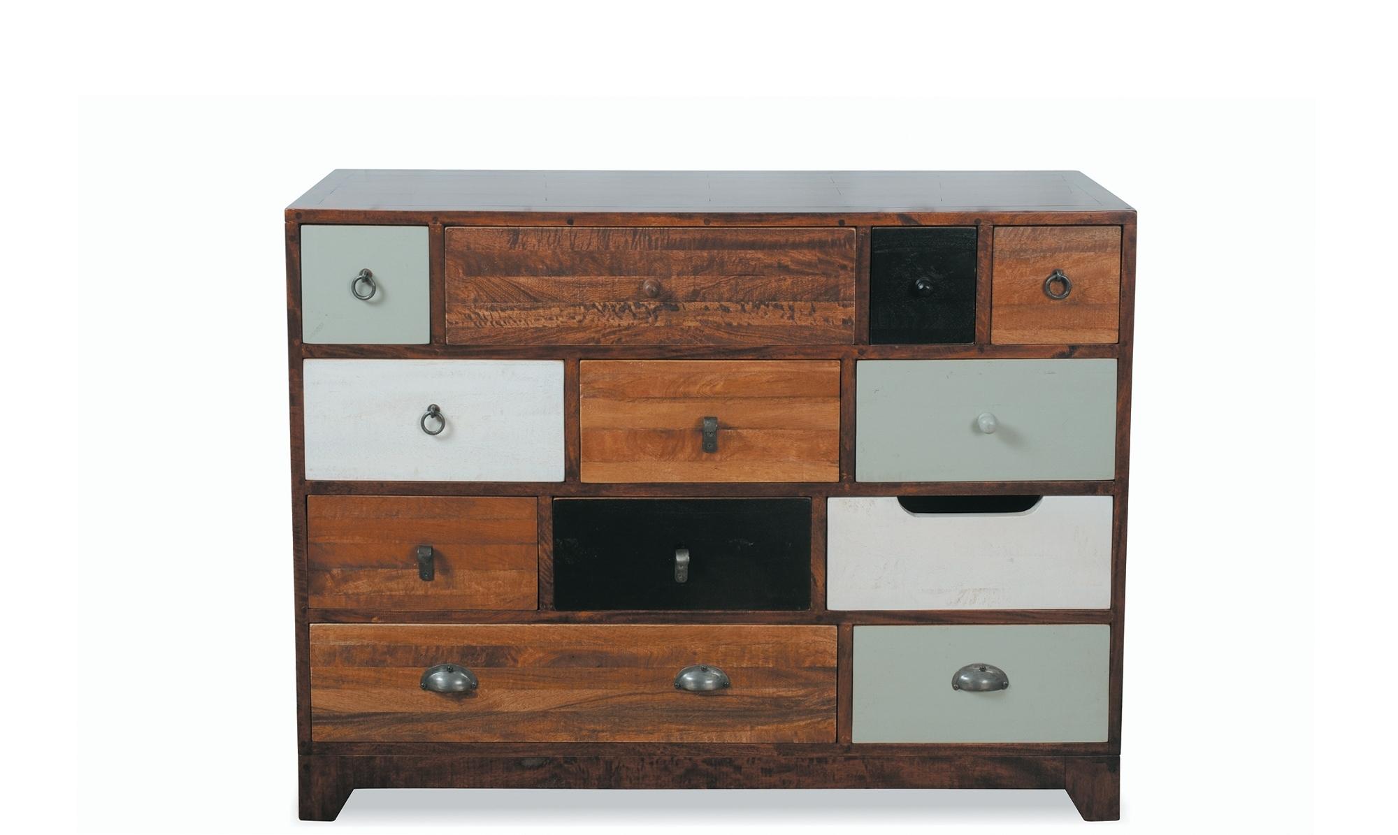 Sideboards - Modern, Oak & Pine Sideboards - Fishpools regarding Dark Smoked Oak With White Marble Top Sideboards (Image 20 of 30)