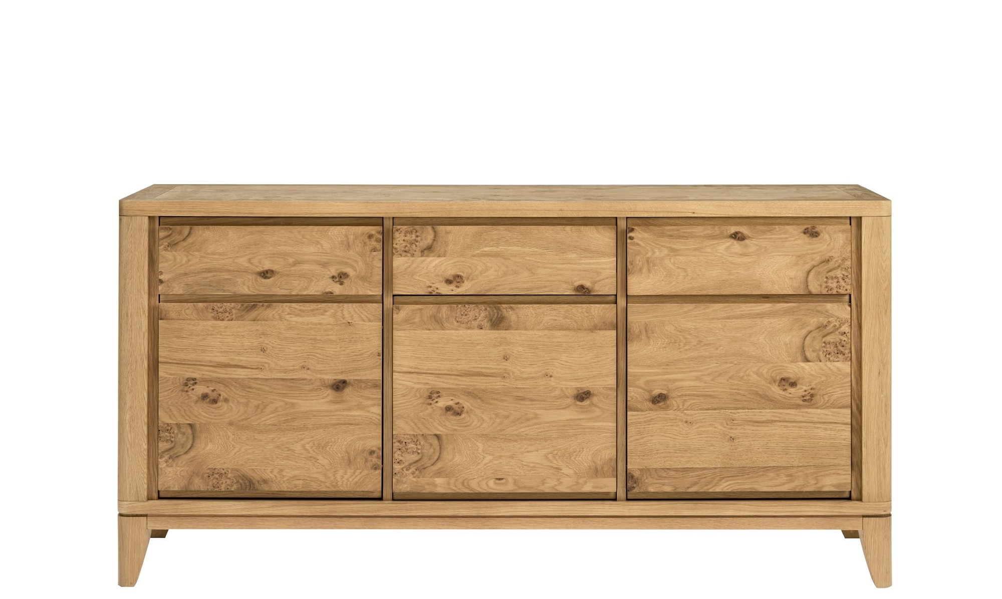 Sideboards – Modern, Oak & Pine Sideboards – Fishpools With Regard To 4 Door 3 Drawer White Wash Sideboards (View 10 of 30)