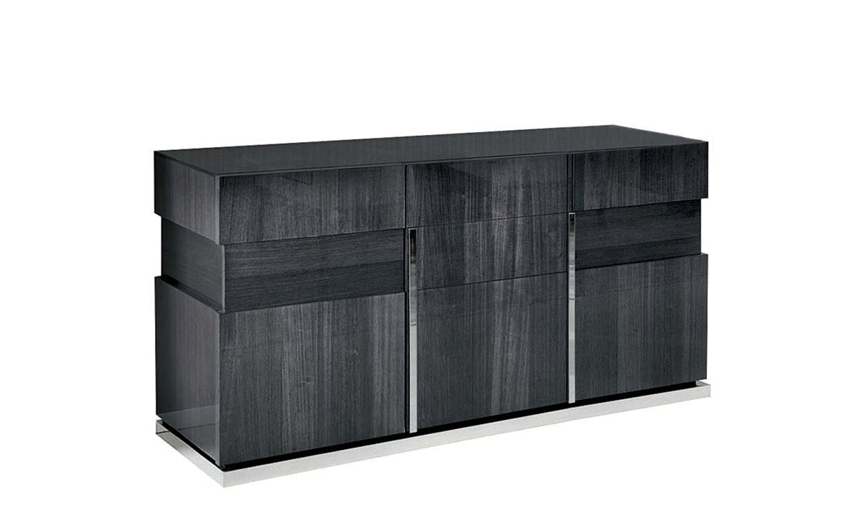 Sideboards - Modern, Oak & Pine Sideboards - Fishpools within White Wash 3-Door 3-Drawer Sideboards (Image 22 of 30)