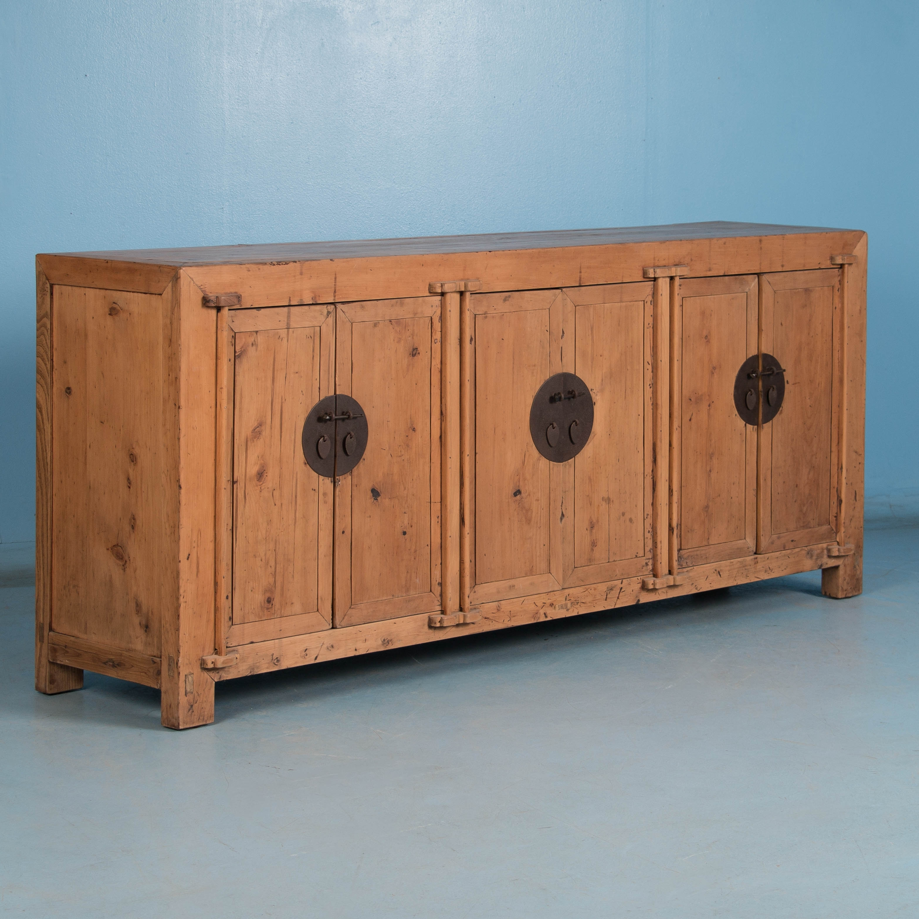 Sideboards | Scandinavian Antiques | Antique Furniture For Sale in Natural South Pine Sideboards (Image 24 of 30)
