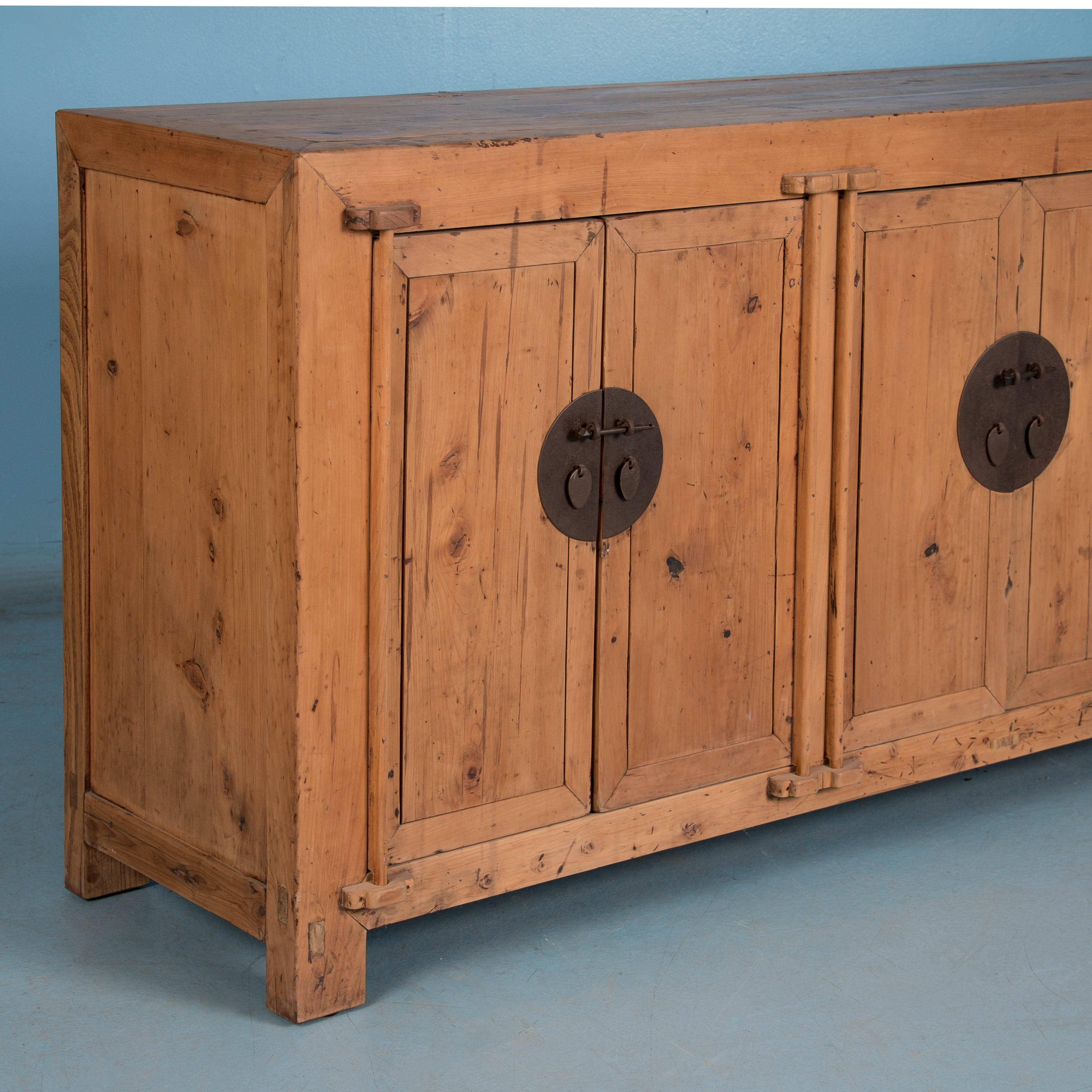 Sideboards | Scandinavian Antiques | Antique Furniture For Sale with Natural Oak Wood 78 Inch Sideboards (Image 28 of 30)