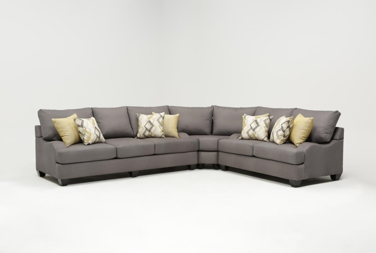 Featured Photo of Sierra Foam Ii 3 Piece Sectionals