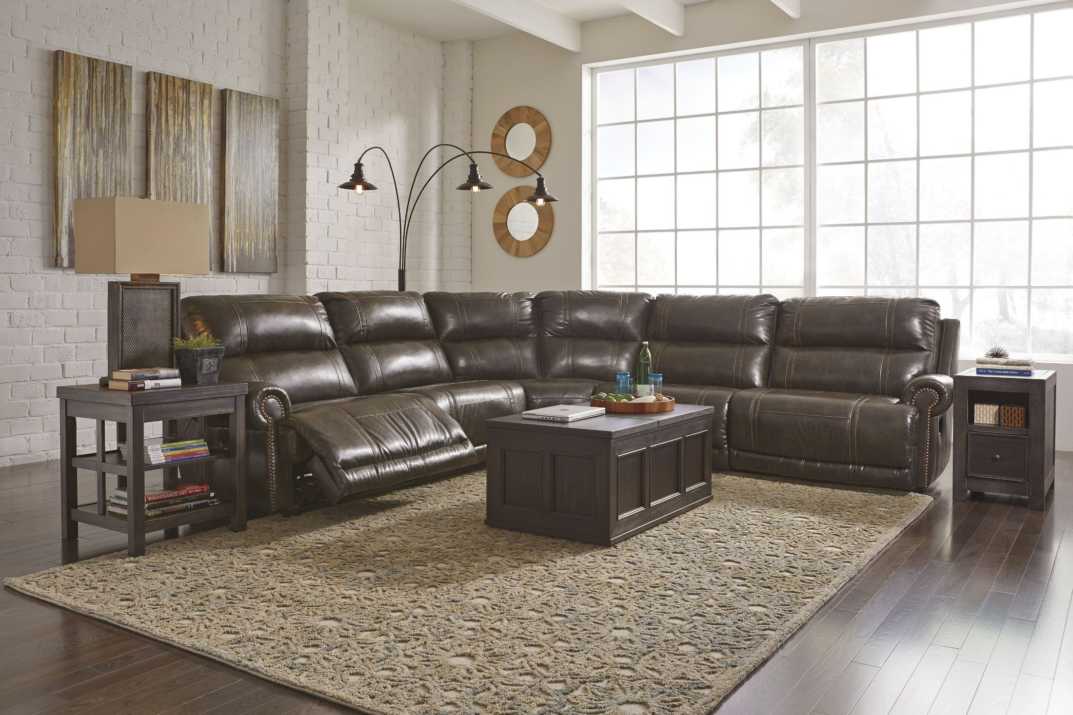 Top 30 Of Lucy Dark Grey 2 Piece Sleeper Sectionals With