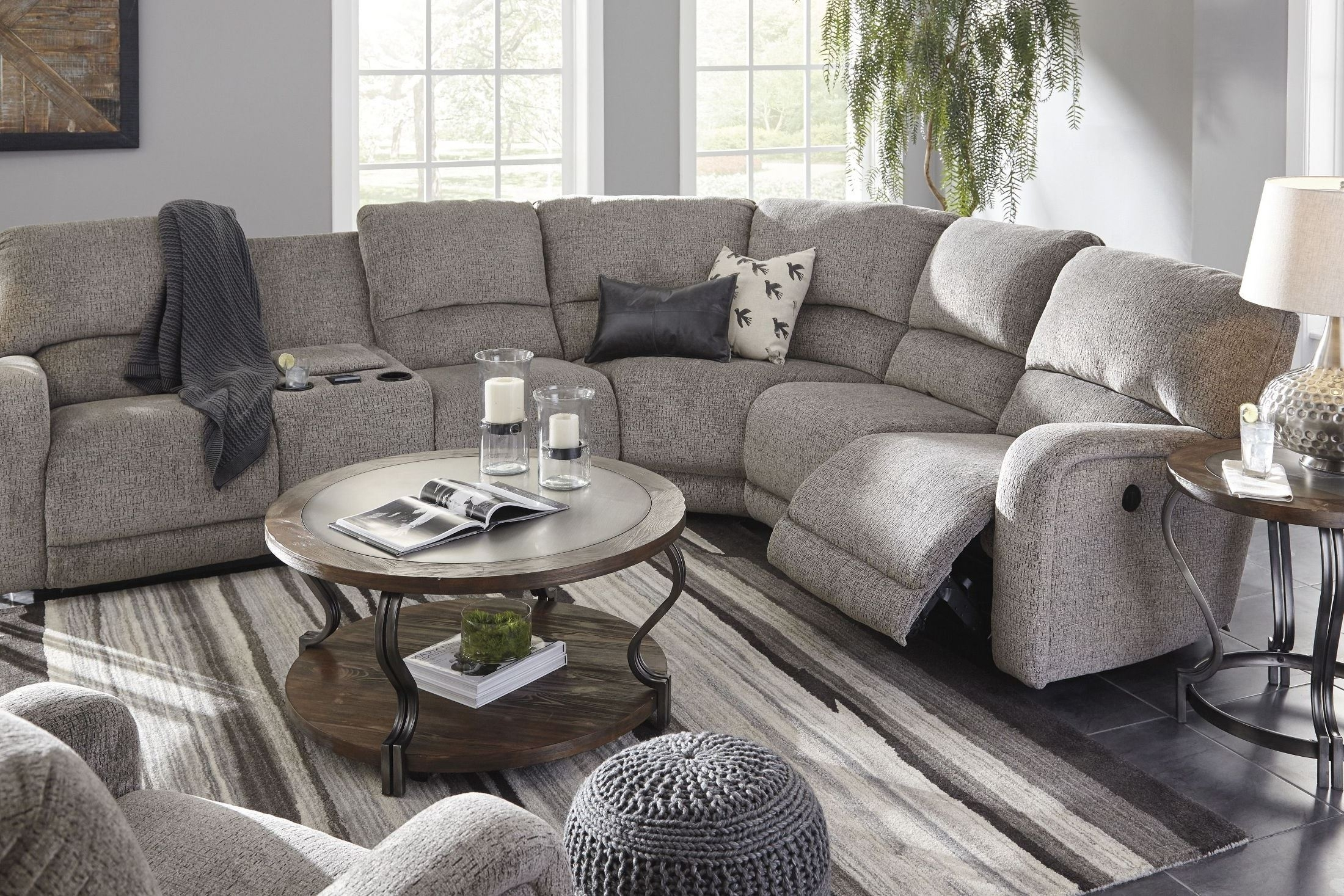 Signature Designashley Pittsfield Fossil Raf Power Reclining with Tess 2 Piece Power Reclining Sectionals With Laf Chaise (Image 20 of 30)
