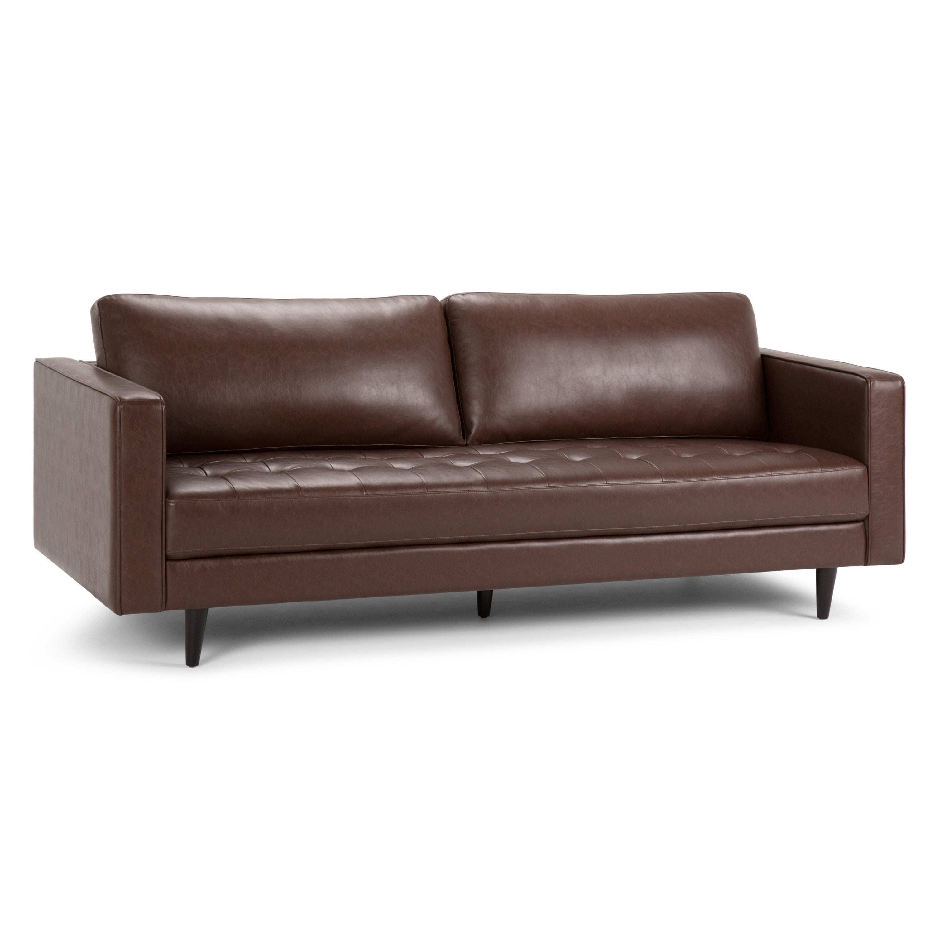 Simpli Home Blaine Sofa | Wayfair throughout Blaine 3 Piece Sectionals (Image 28 of 30)