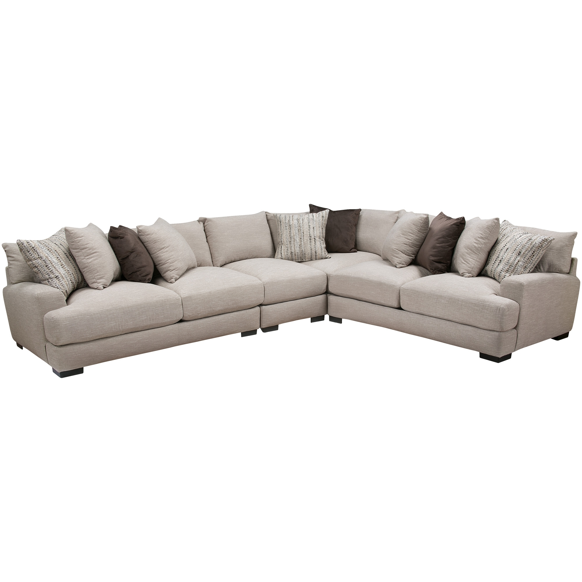 Slumberland Furniture | Wake Dusk 4Pc Sectional pertaining to Harper Down 3 Piece Sectionals (Image 28 of 30)