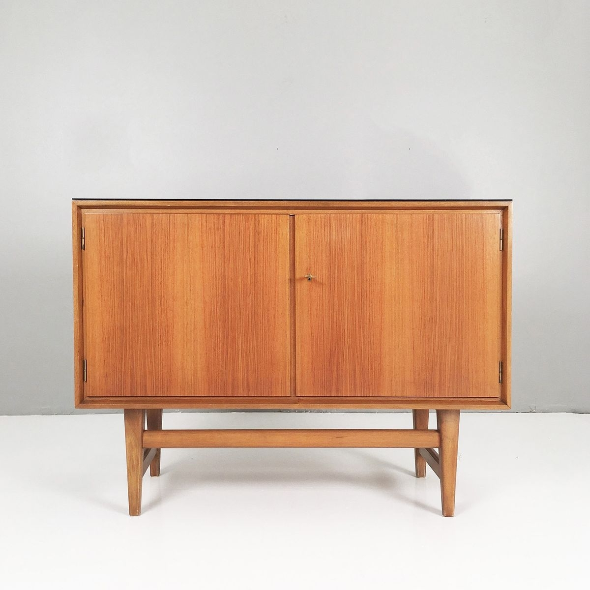 Small Walnut Sideboard, 1950S For Sale At Pamono intended for Walnut Small Sideboards (Image 24 of 30)