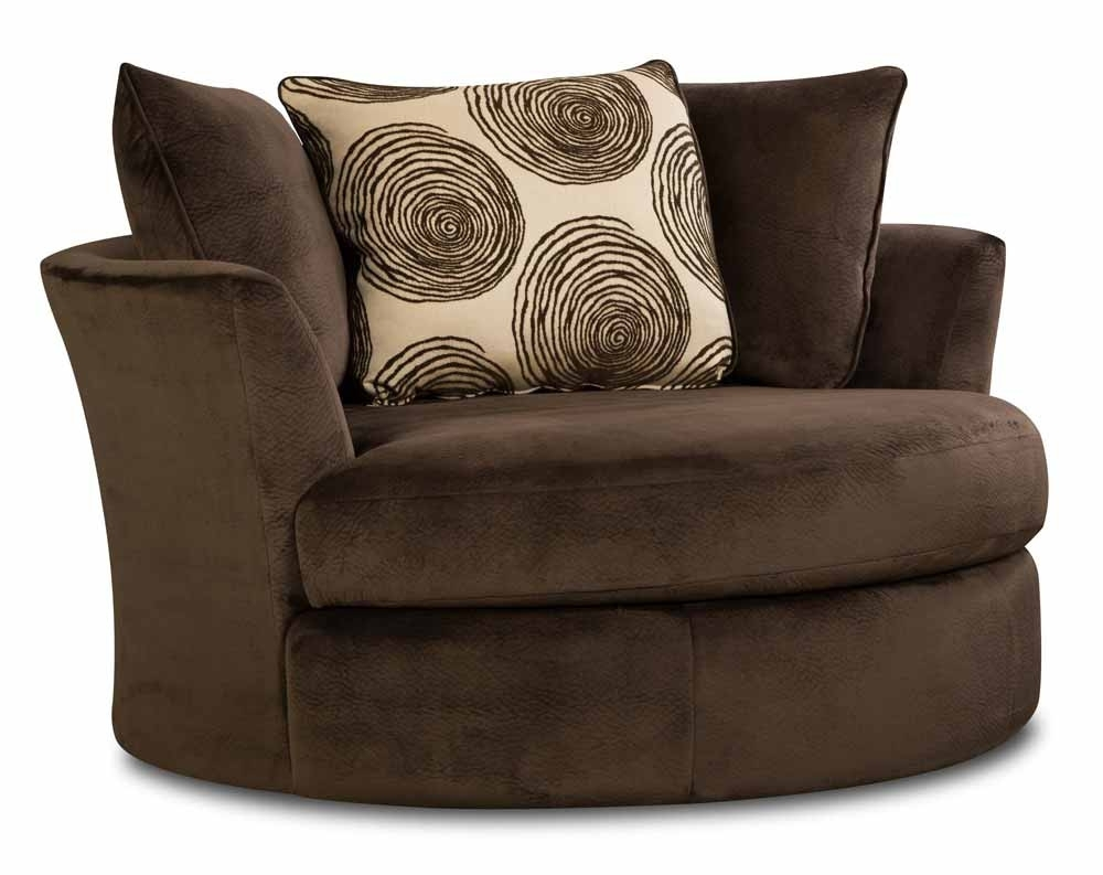 Soft Brown Microfiber Two Piece Sectional Sofa | American Freight within Norfolk Chocolate 6 Piece Sectionals With Laf Chaise (Image 29 of 30)