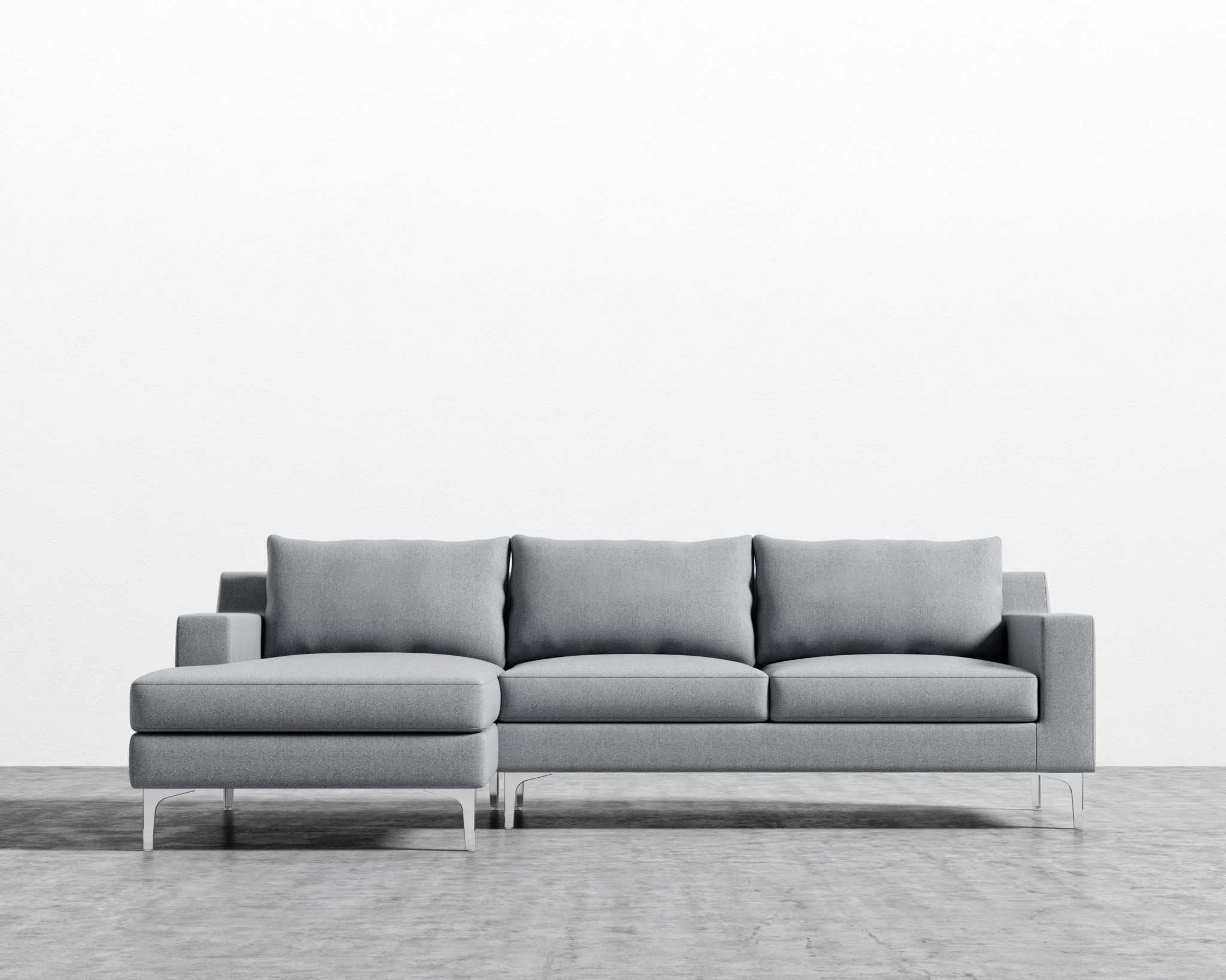 Sophia Sectional | Rove Concepts Sandro Mid-Century Furniture regarding Nico Grey Sectionals With Left Facing Storage Chaise (Image 28 of 30)