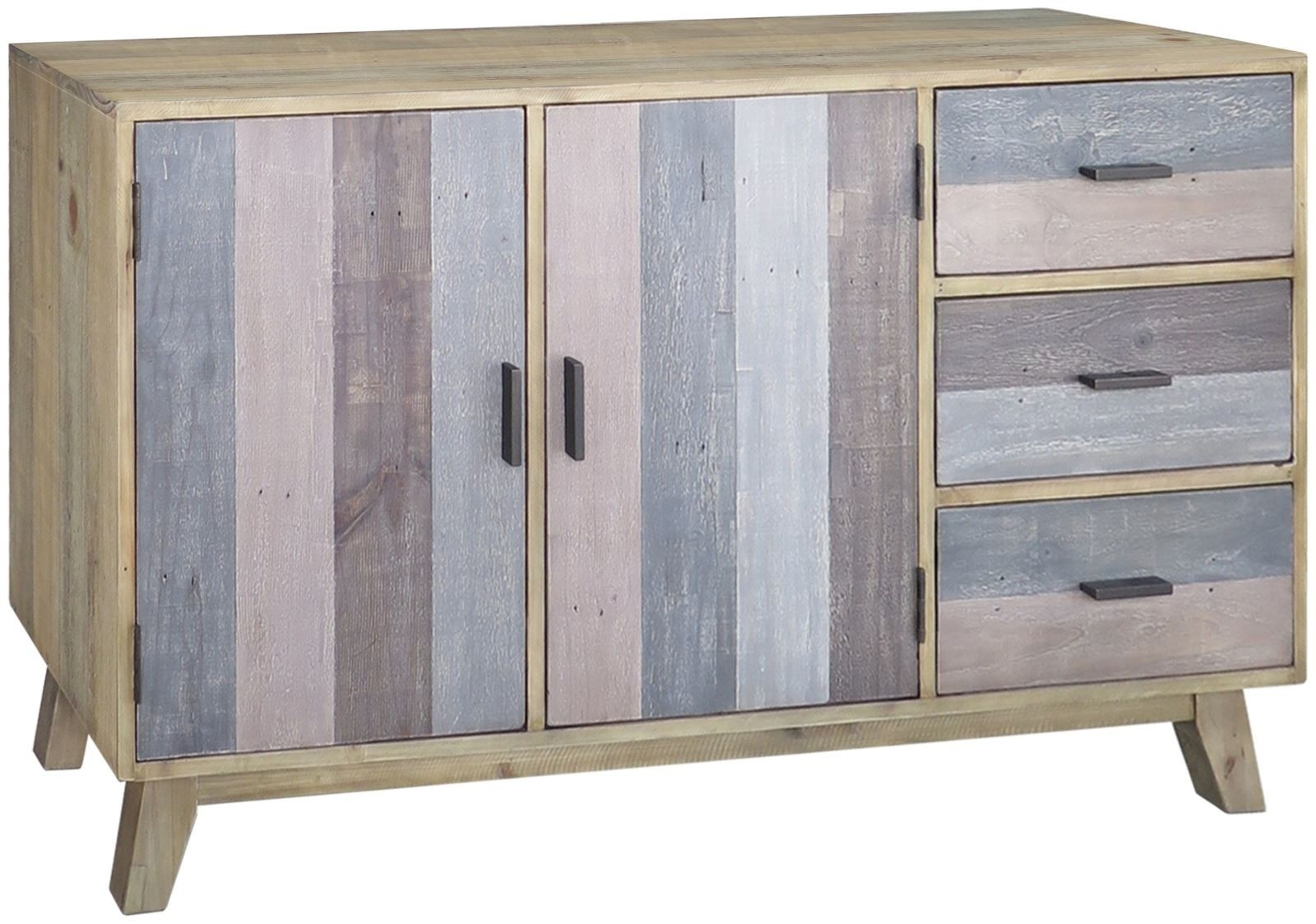 Sorrento Reclaimed Large Sideboard - Style Our Home for 2-Door/2-Drawer Cast Jali Sideboards (Image 28 of 30)