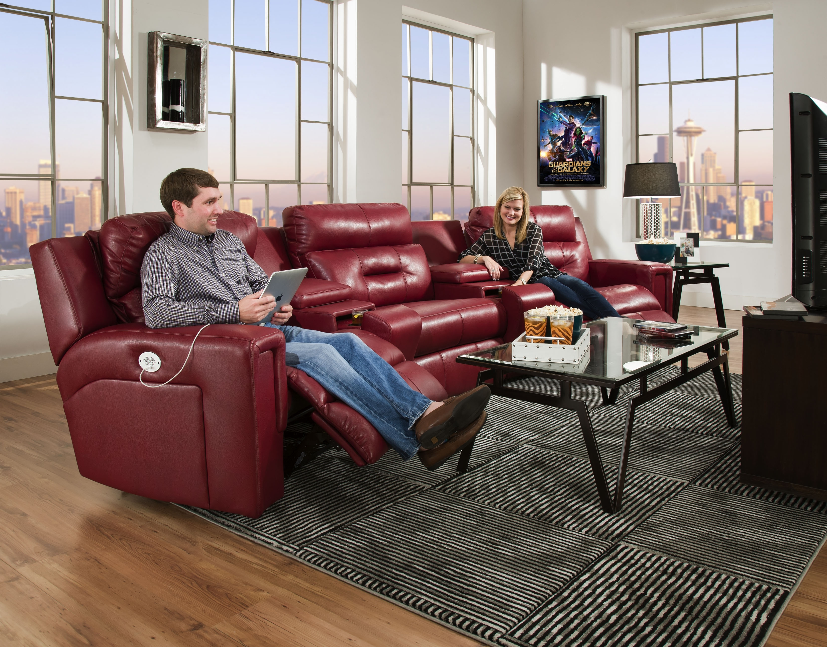 Southern Motion Furniture Products for Travis Cognac Leather 6 Piece Power Reclining Sectionals With Power Headrest & Usb (Image 22 of 30)