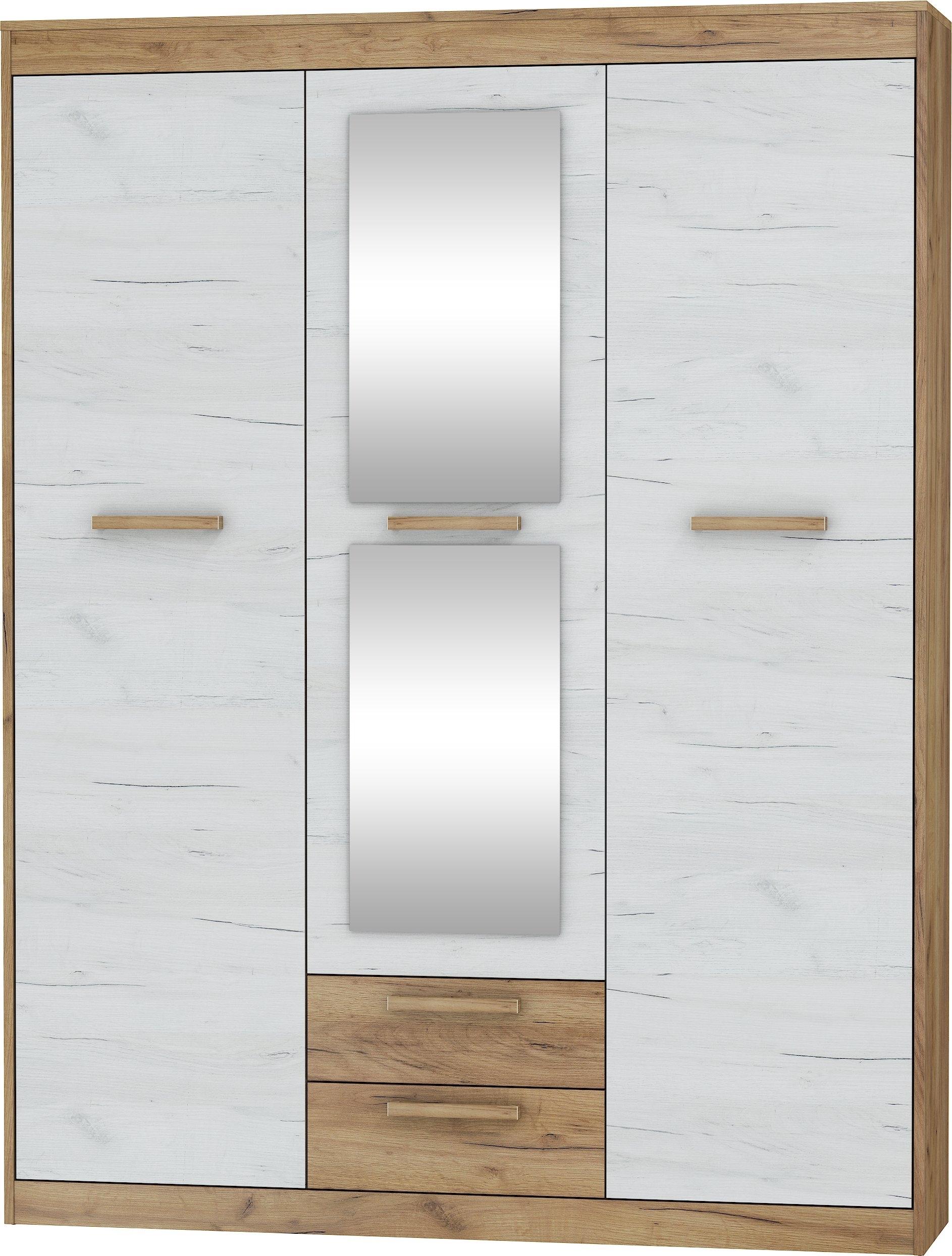 Spinta Maximus 3D2S, Ruda/balta Kaina | Pigu.lt regarding Koip 6 Door Sideboards (Image 28 of 30)