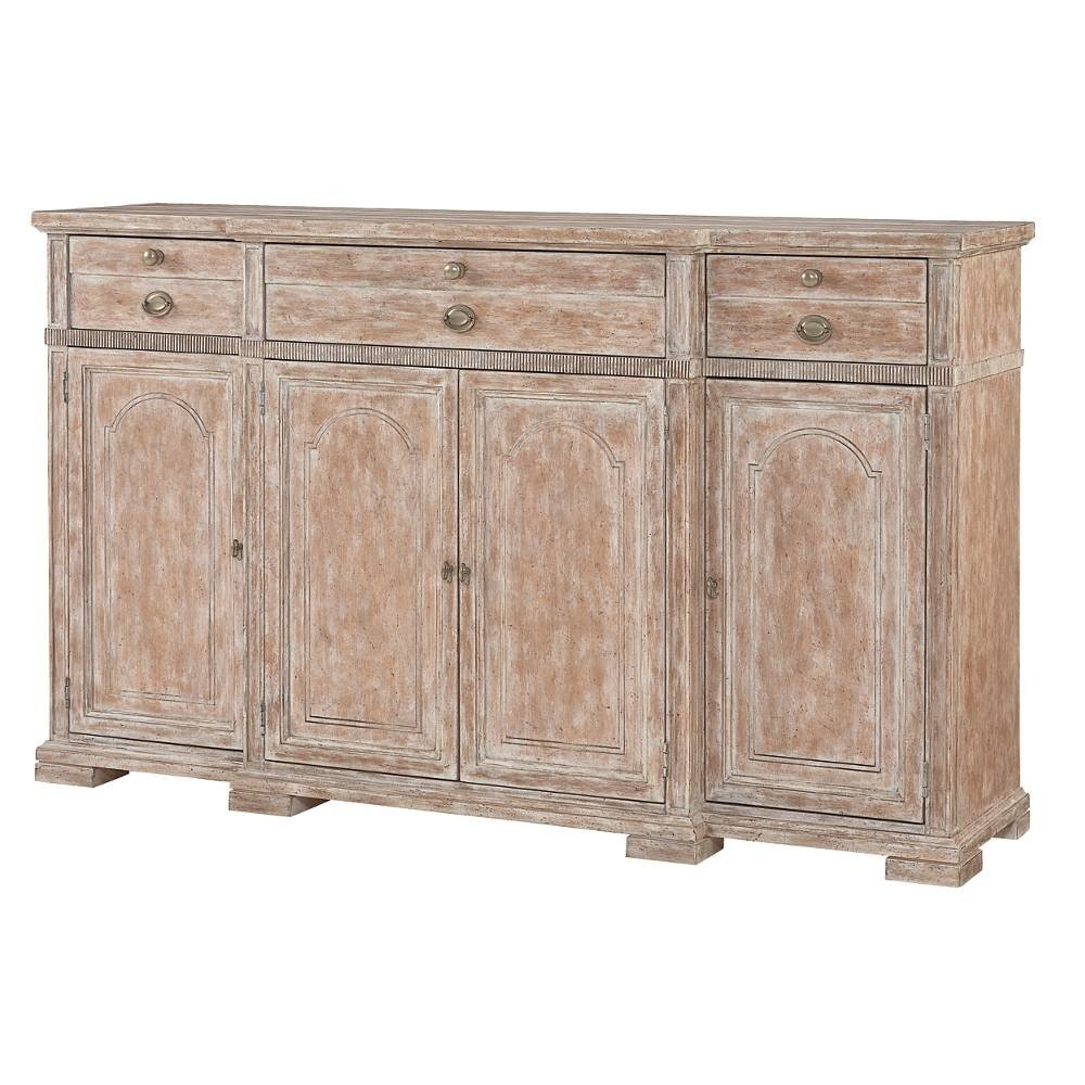 Stanley Juniper Dell Sideboard & Reviews | Wayfair regarding Open Shelf Brass 4-Drawer Sideboards (Image 20 of 30)