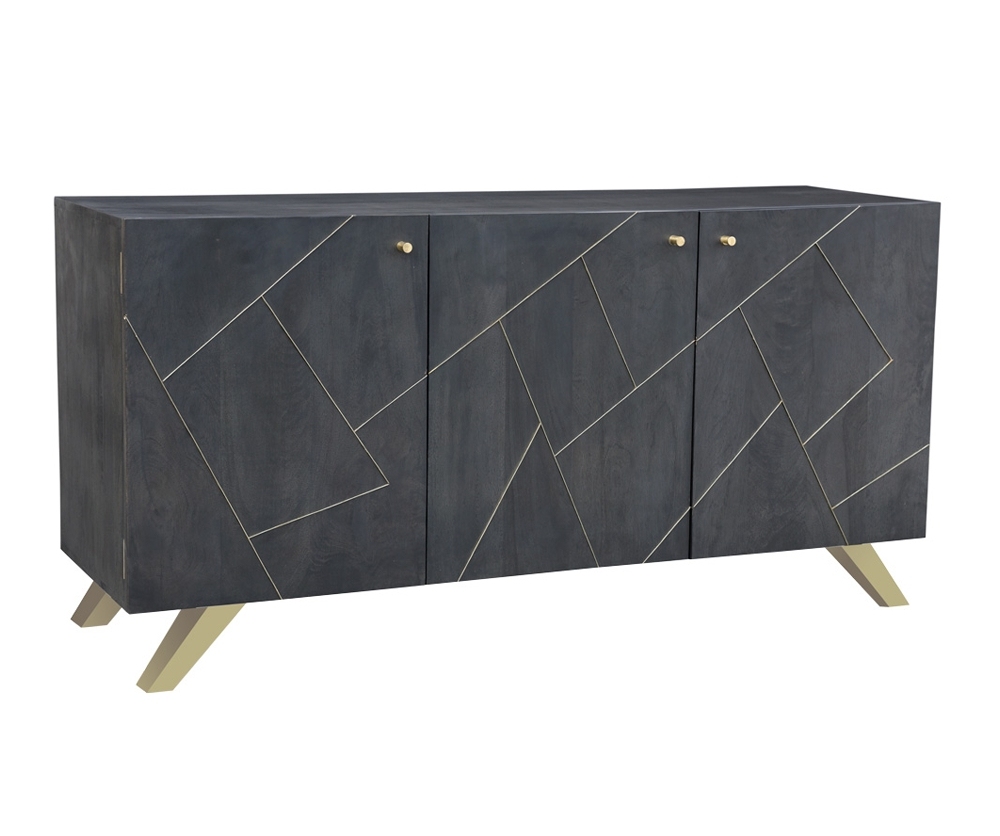 Sterling Sideboard - Decorium Furniture with regard to Jaxon Grey Sideboards (Image 29 of 30)
