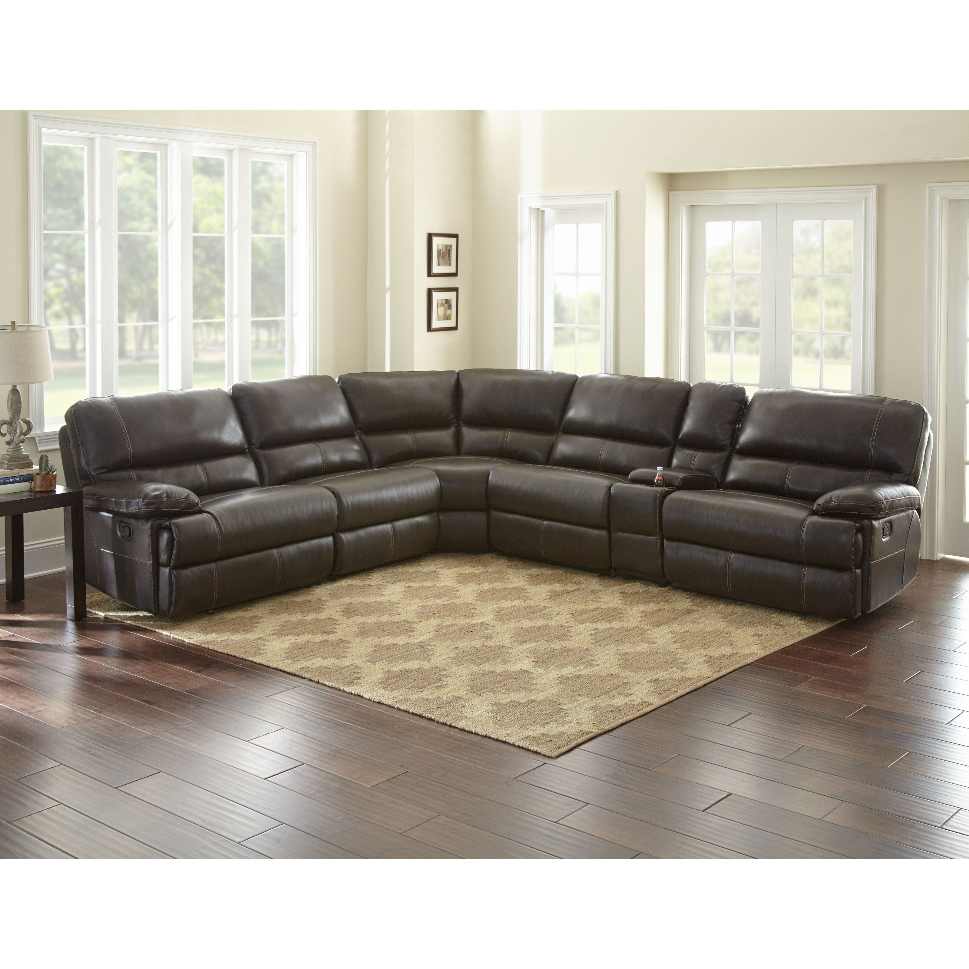 Steve Silver Co. Rollins 6 Piece Reclining Sectional - Rl8506Pc with regard to Kristen Silver Grey 6 Piece Power Reclining Sectionals (Image 27 of 30)