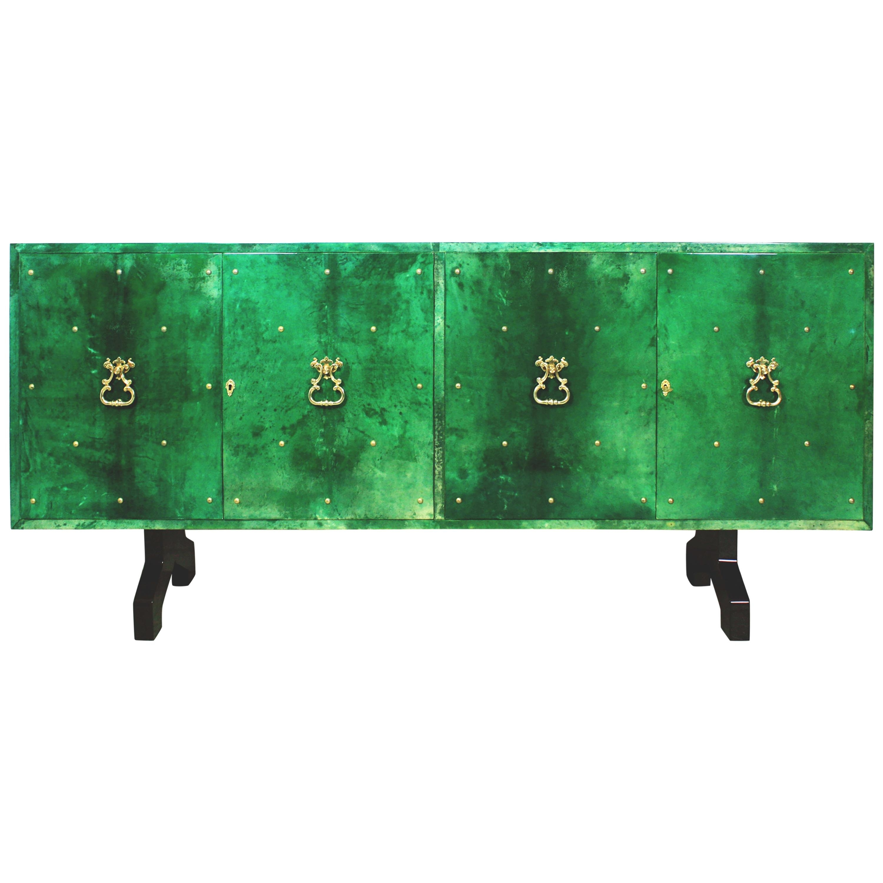 Striking 'intarsia' Sideboard With A Vintage Designaldo Rossi for Rossi Large Sideboards (Image 22 of 30)