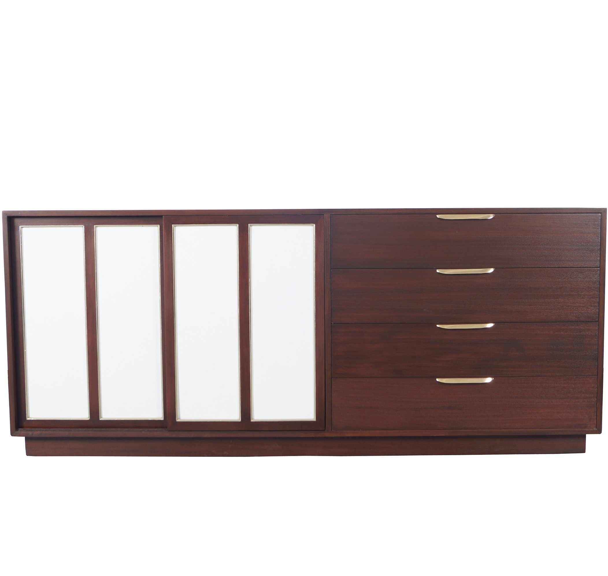 Striking 'intarsia' Sideboard With A Vintage Designaldo Rossi intended for Rossi Large Sideboards (Image 24 of 30)