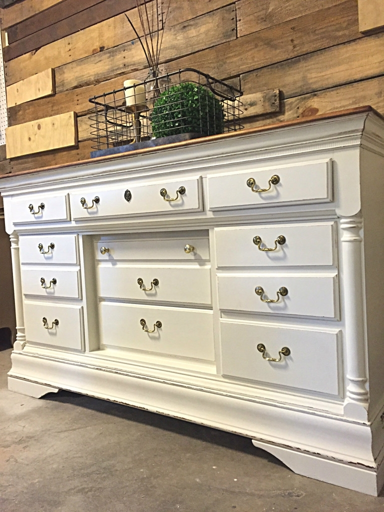 Sumter Buffet In Antique White Milk Paint | General Finishes Design with Satin Black & Painted White Sideboards (Image 28 of 30)