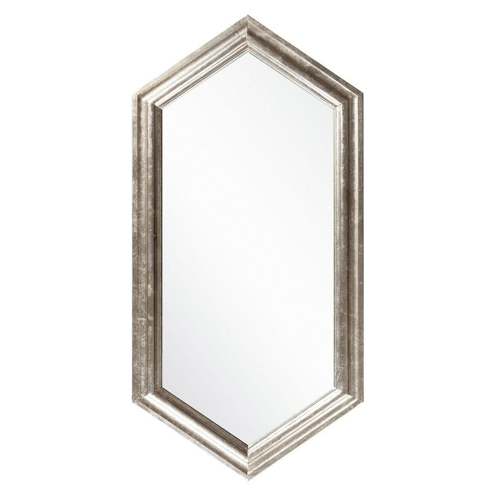 Surya Gavell Decorative Wall Mirror Champagne | Products within Zeema Sideboards (Image 21 of 30)