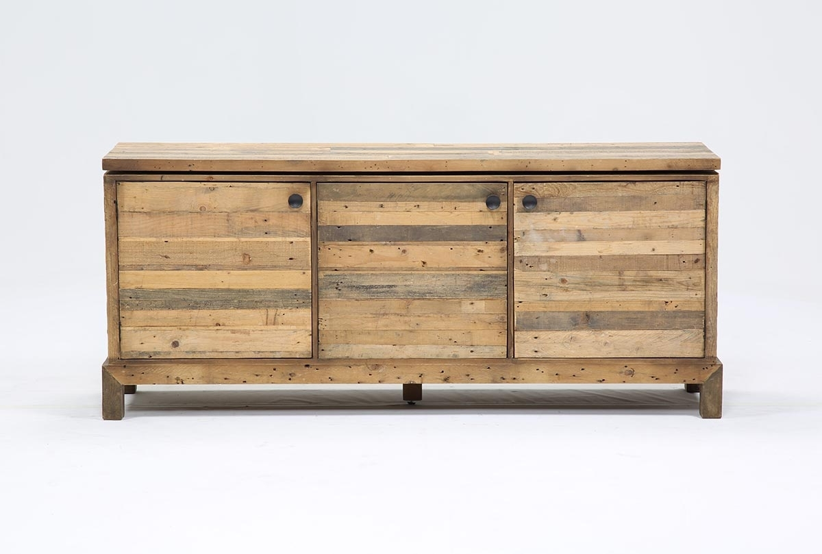 Tahoe Sideboard | Living Spaces intended for Reclaimed 3 Drawer Icebox Sideboards (Image 30 of 30)