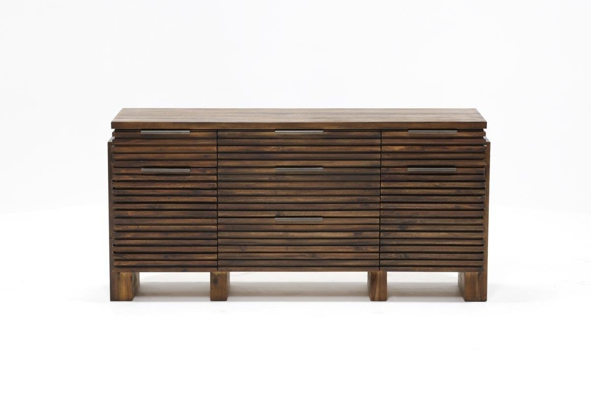 Teagan Sideboard | Living Spaces within Palazzo 87 Inch Sideboards (Image 30 of 30)