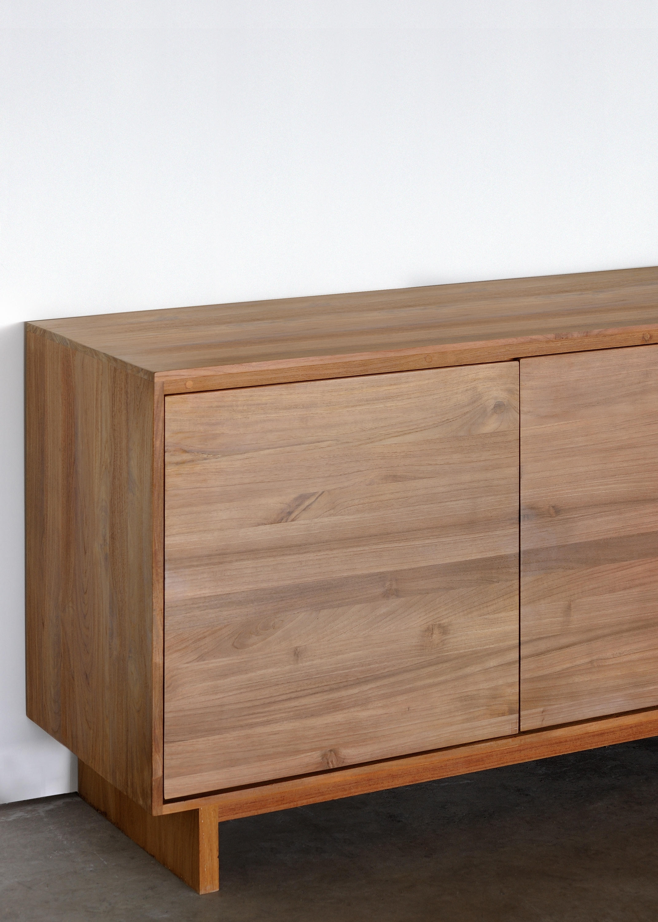 Teak Wave Sideboard - Sideboards From Ethnicraft | Architonic with Calhoun Sideboards (Image 22 of 30)
