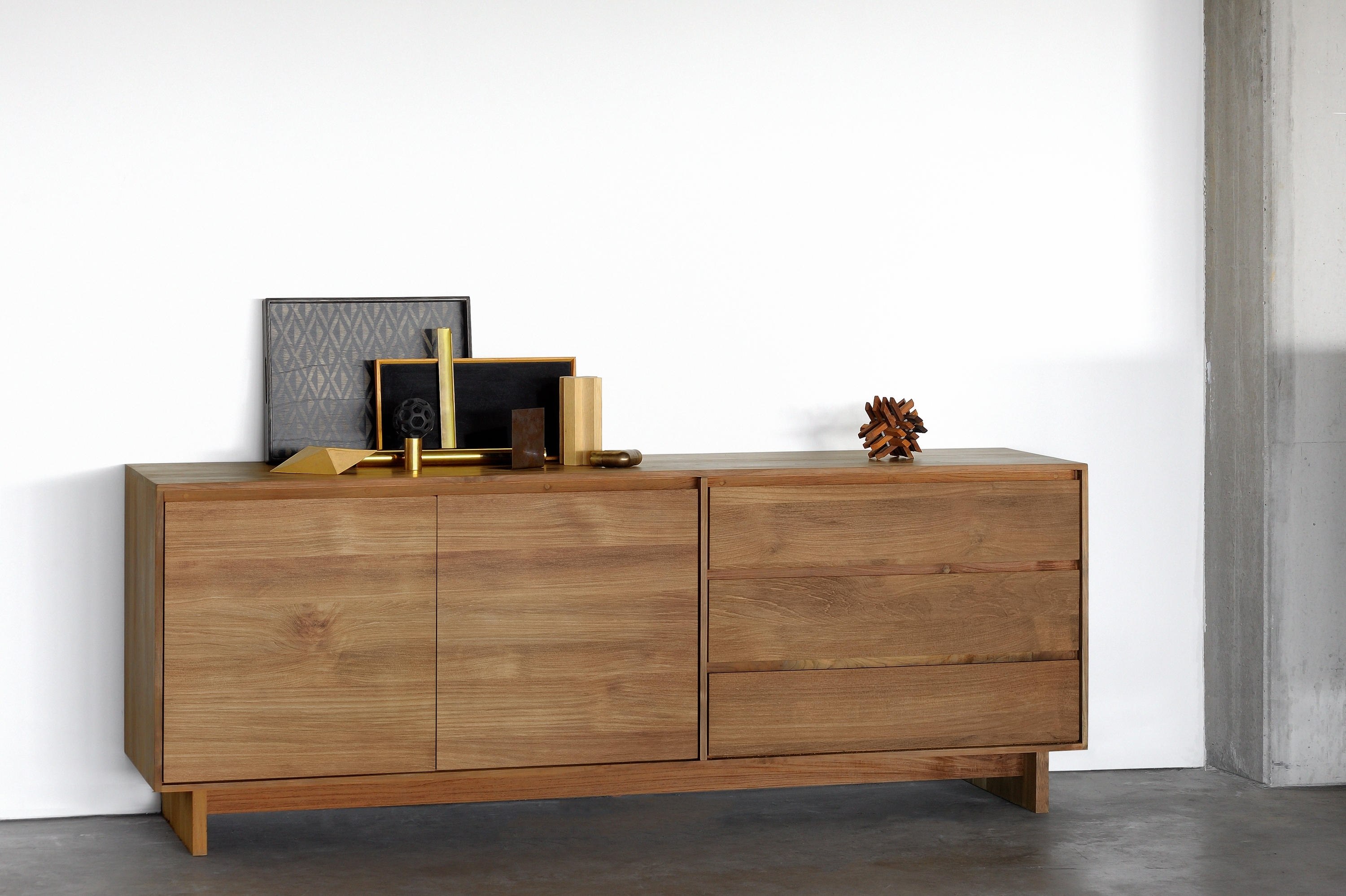 Teak Wave Sideboard - Sideboards From Ethnicraft | Architonic with regard to Calhoun Sideboards (Image 23 of 30)