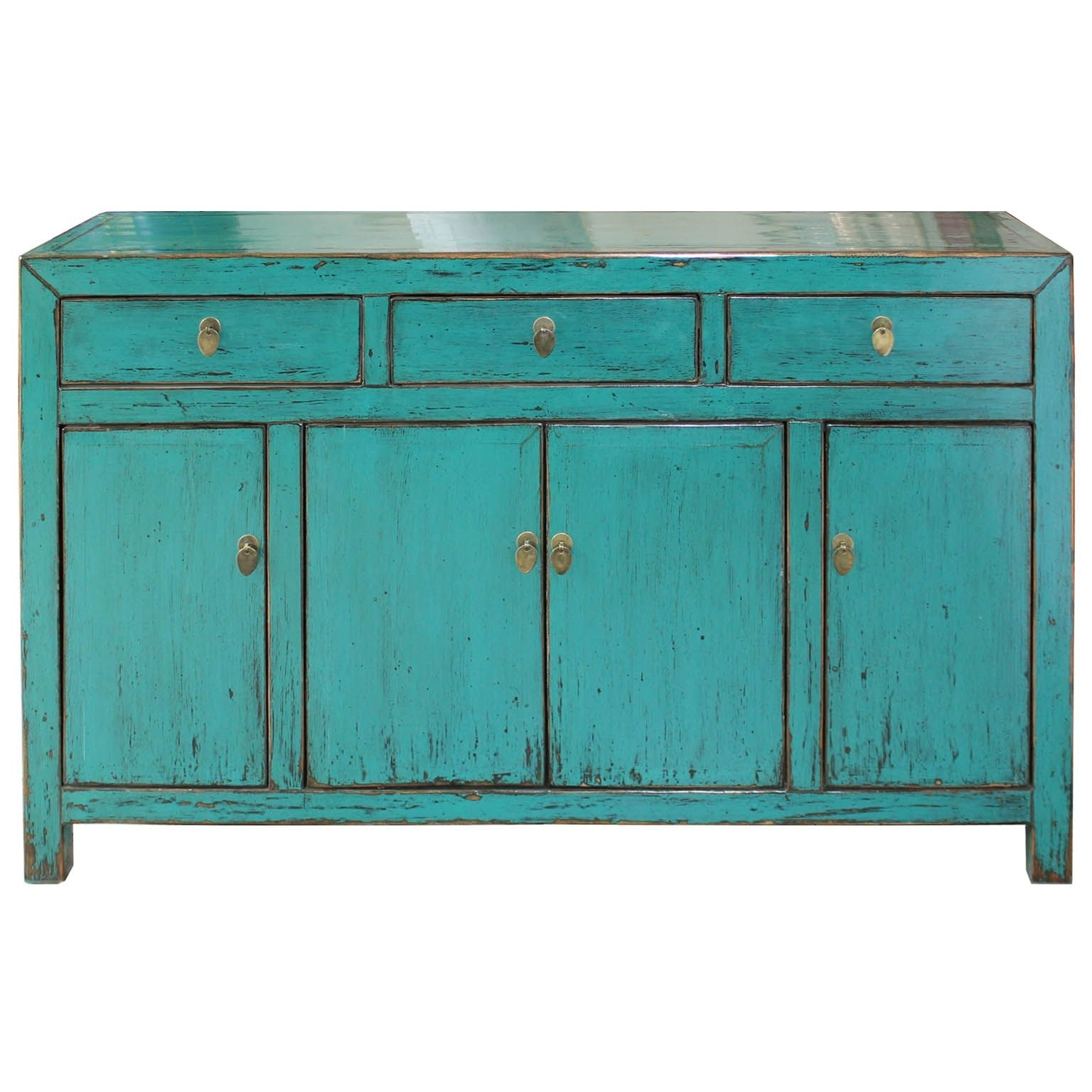 Teal Sideboard | Buffets And Sideboards | Pinterest | Drawers, Bold regarding Calhoun Sideboards (Image 25 of 30)