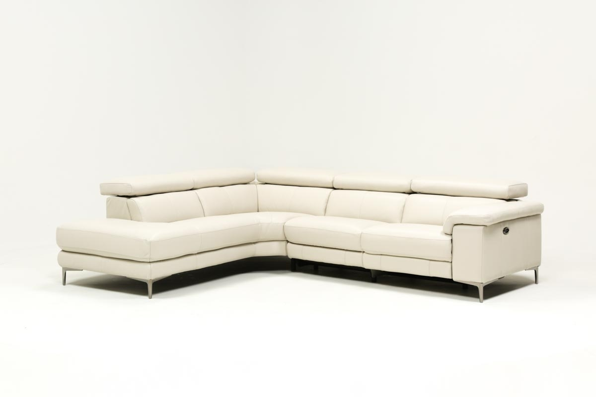 Tess 2 Piece Power Reclining Sectional W/laf Chaise | Living Spaces in Tess 2 Piece Power Reclining Sectionals With Laf Chaise (Image 27 of 30)