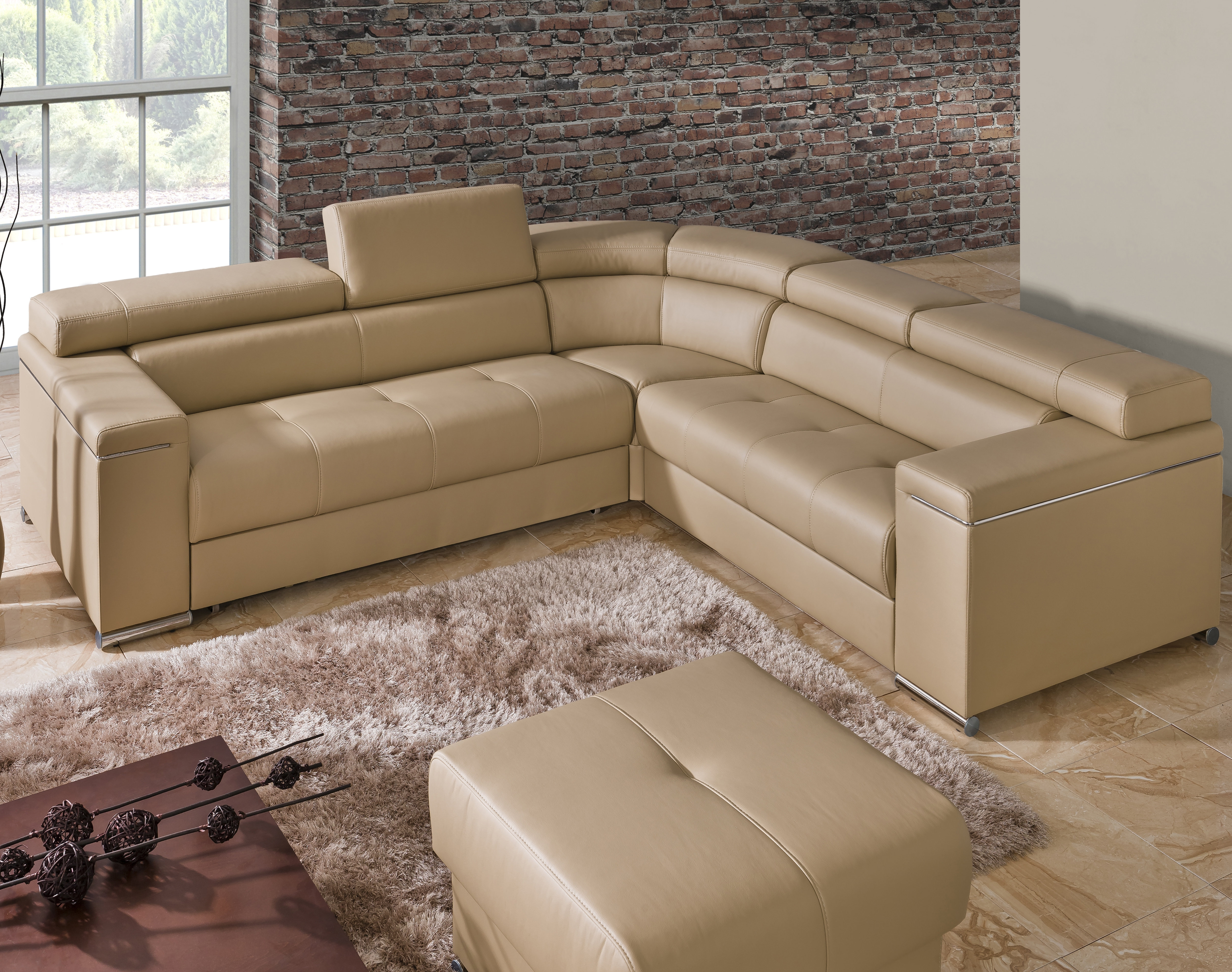 The Collection German Furniture Sleeper Sectional | Wayfair within Blaine 4 Piece Sectionals (Image 30 of 30)