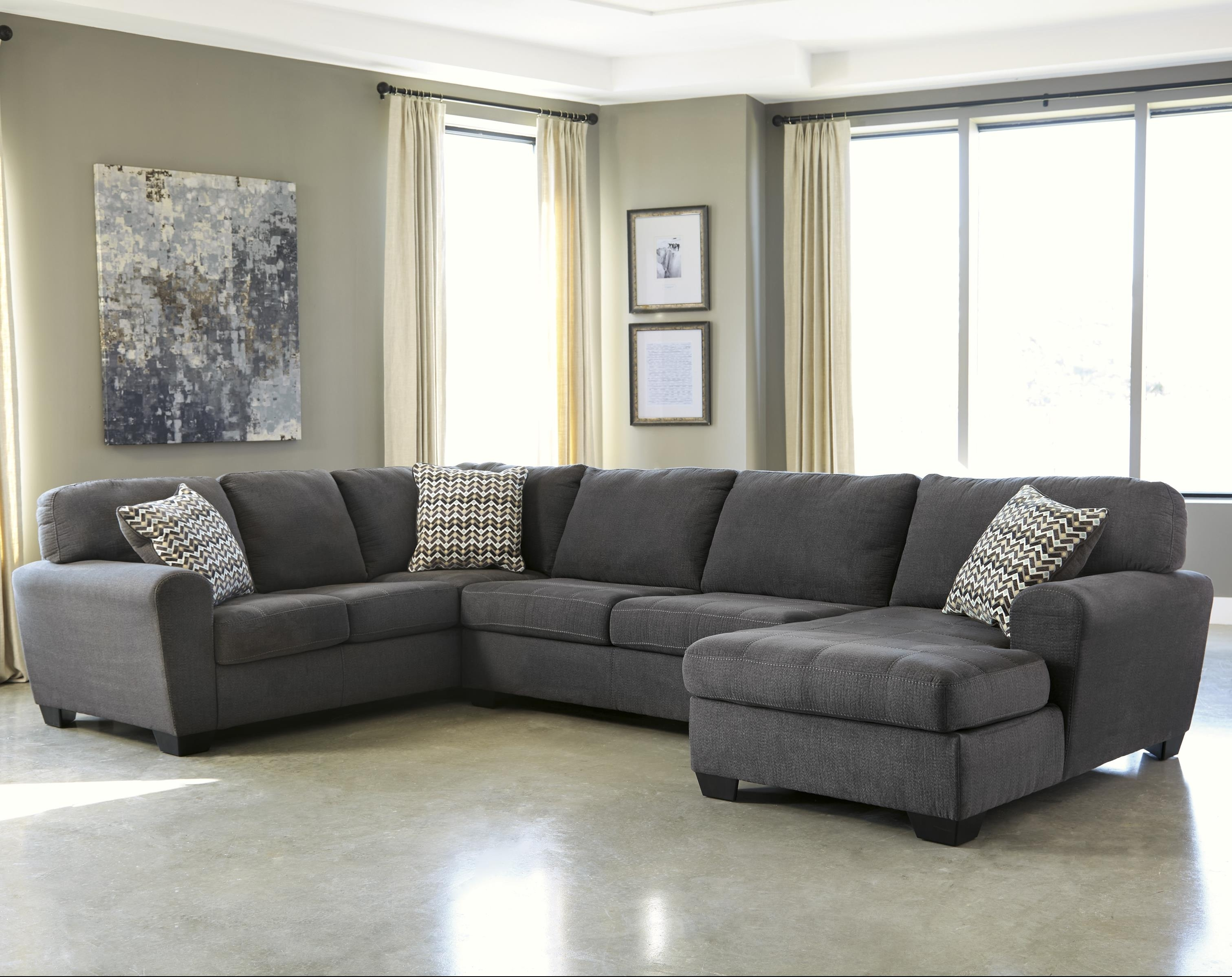 Three Piece Sectional Sofa – Home And Textiles inside Turdur 3 Piece Sectionals With Laf Loveseat (Image 29 of 30)