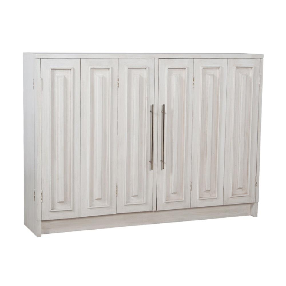Popular Photo of 3 Drawer/2 Door White Wash Sideboards