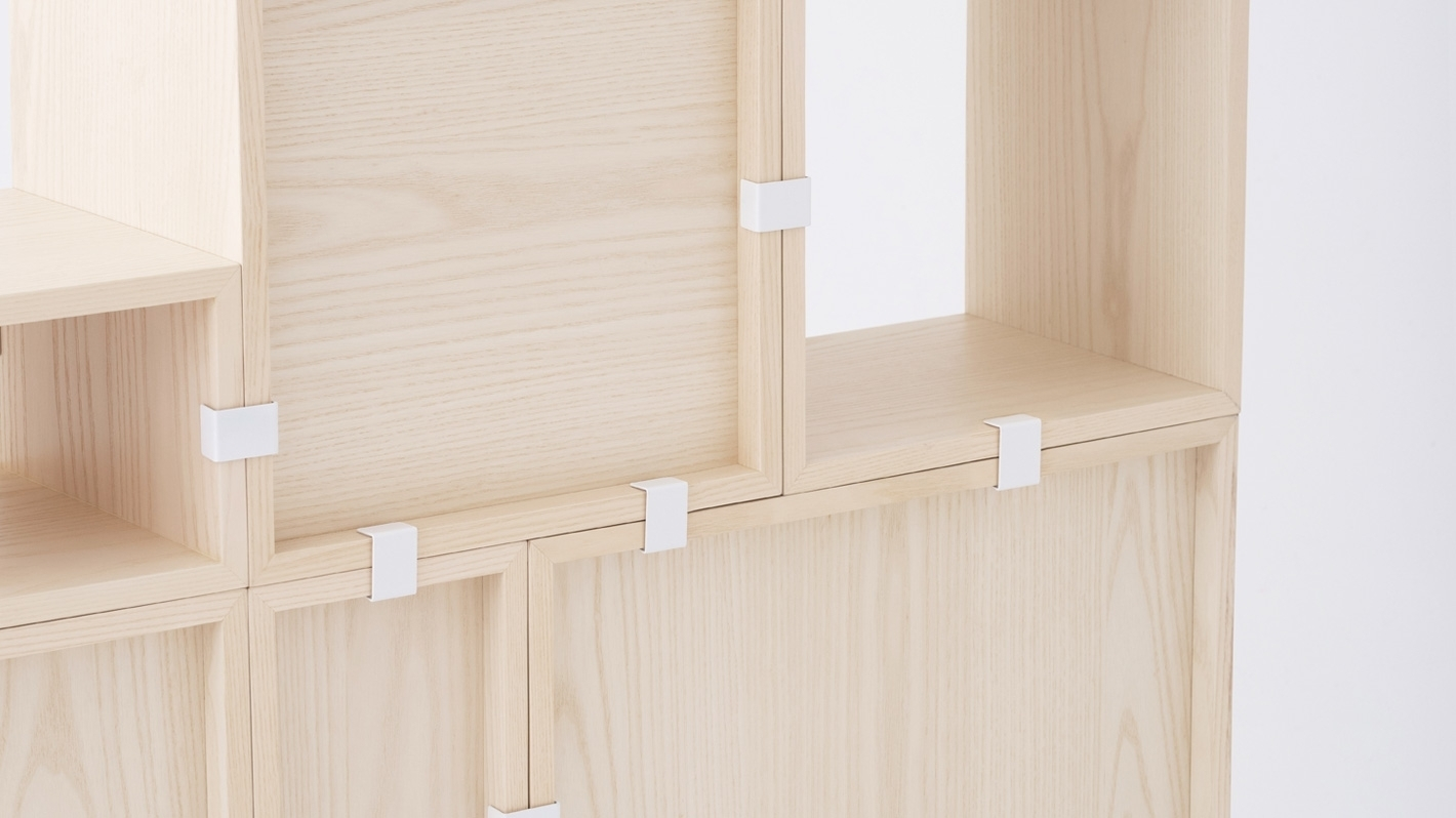 Tobi Shelving Units - Ash | Eq3 pertaining to Tobias 4 Door Sideboards (Image 20 of 30)