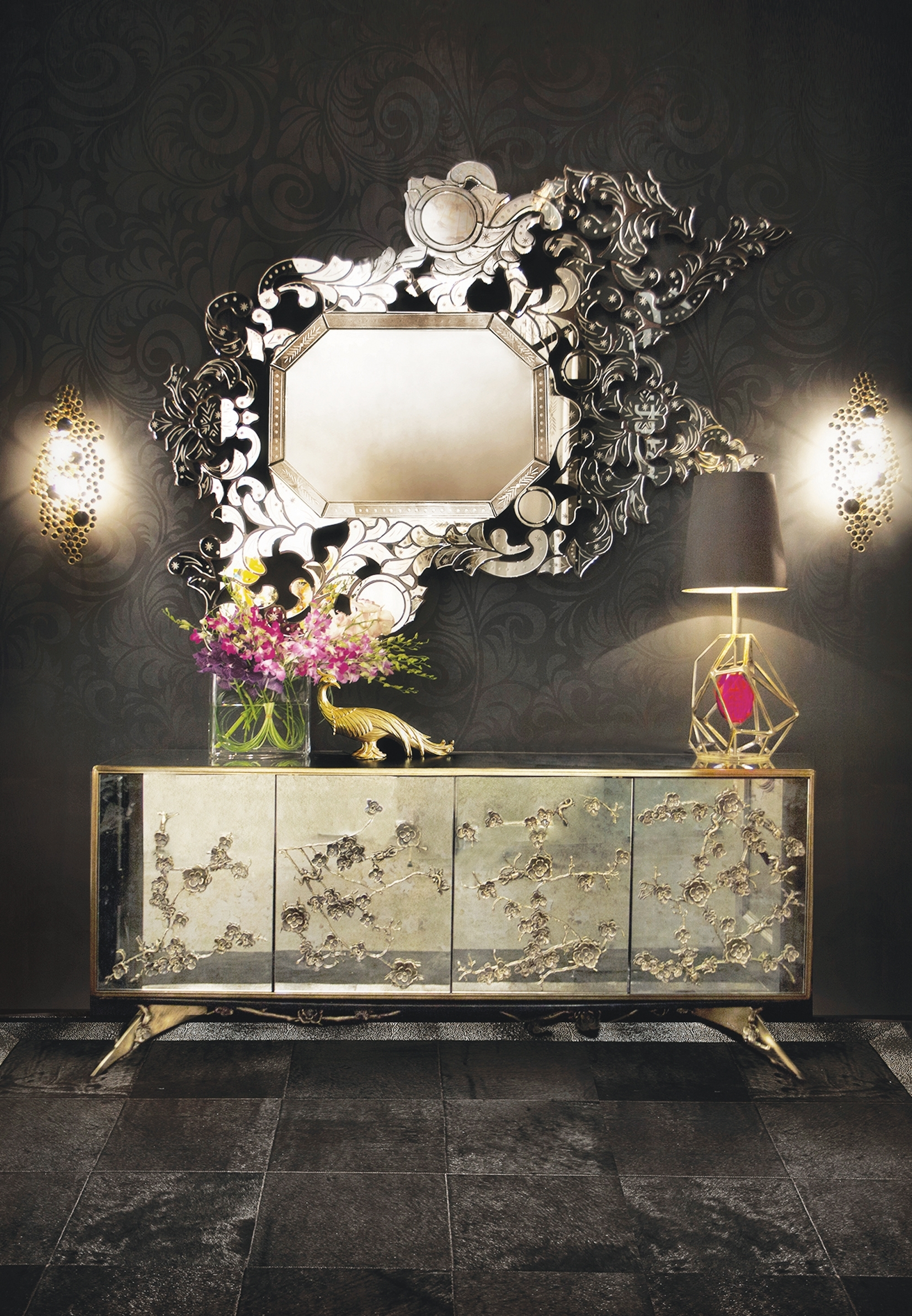Top 10 Stunning Sideboards To Enhance Your Living Room Décor intended for Diamond Circle Sideboards (Image 29 of 30)
