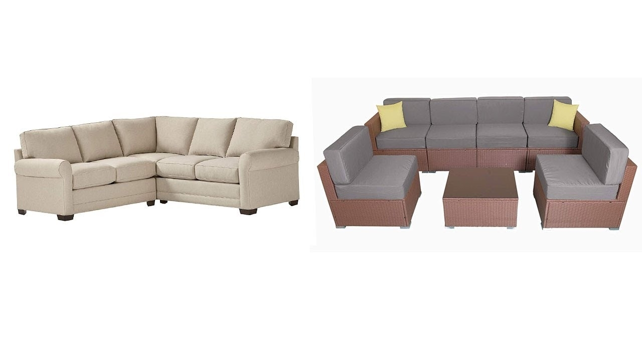 Top 5 Best Sectional Sofas - Youtube inside Josephine 2 Piece Sectionals With Raf Sofa (Image 29 of 30)