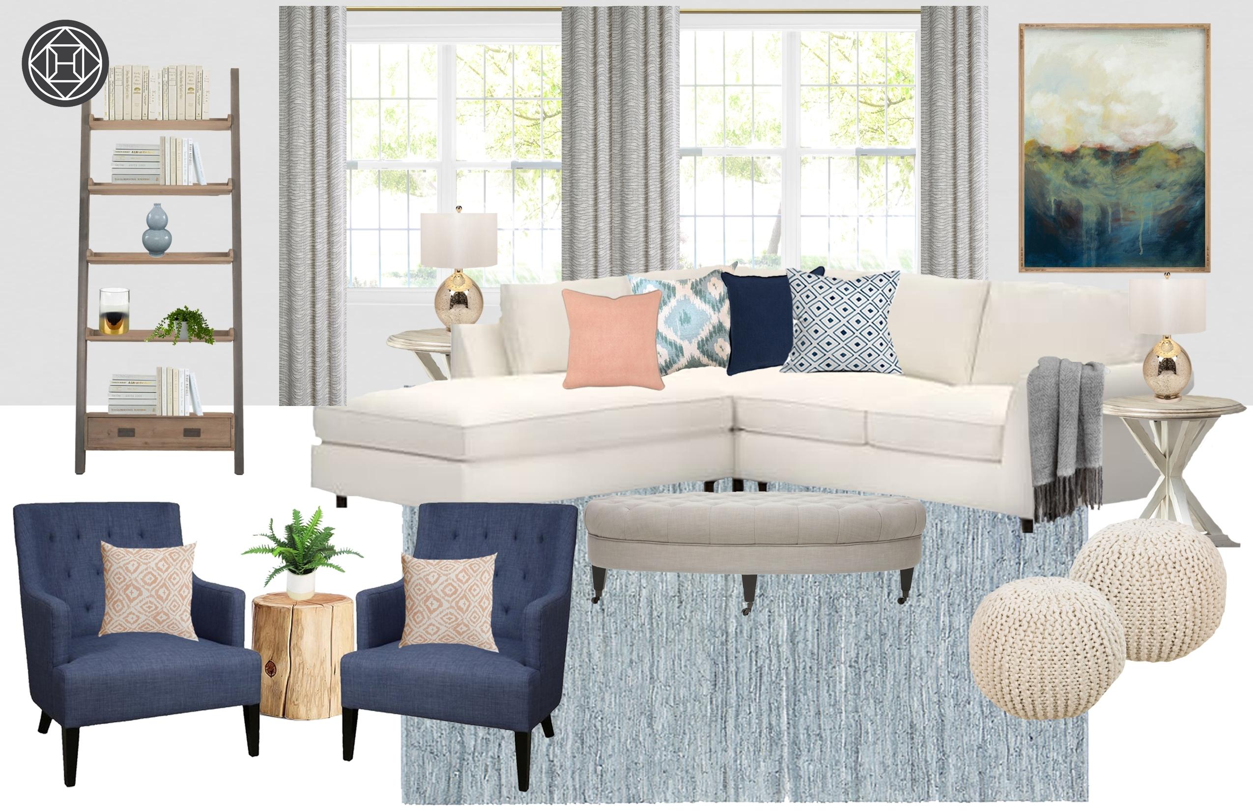 Transitional Living Room Designhavenly Interior Designermarissa with regard to Marissa Ii 3 Piece Sectionals (Image 25 of 30)