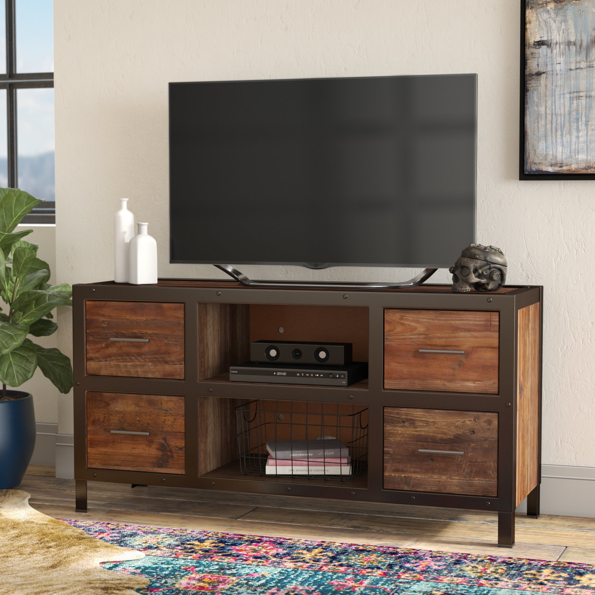 """Trent Austin Design Marissa Tv Stand For Tvs Up To 60"""" & Reviews intended for Marissa Ii 3 Piece Sectionals (Image 26 of 30)"""