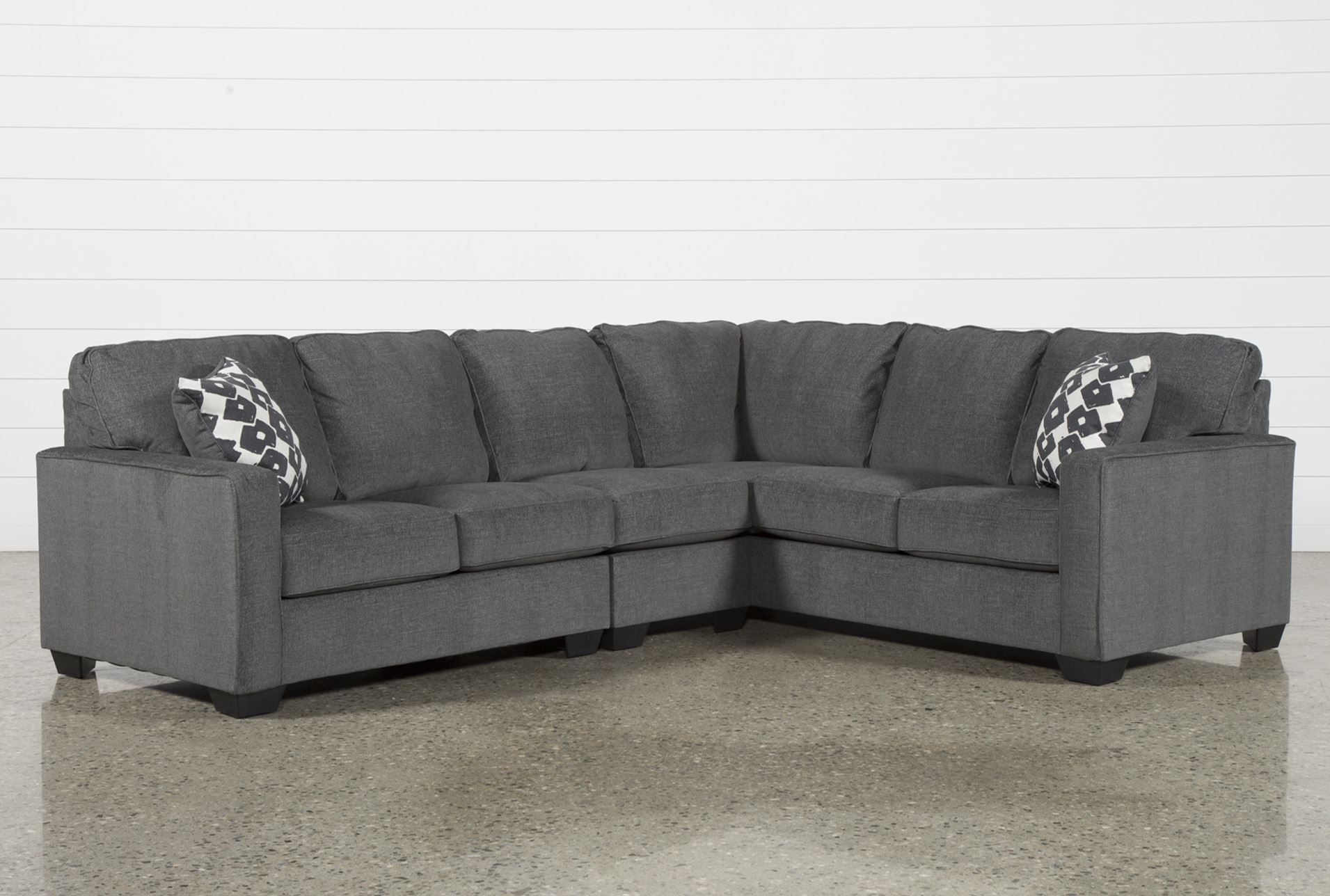 Turdur 3 Piece Sectional W/laf Loveseat | Furniture/wayfaire | Pinterest for Karen 3 Piece Sectionals (Image 29 of 30)