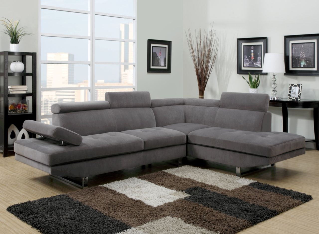 U9782 Modern Sectional Living Room In 2018 | Hogar | Pinterest with regard to Travis Dk Grey Leather 6 Piece Power Reclining Sectionals With Power Headrest & Usb (Image 29 of 30)