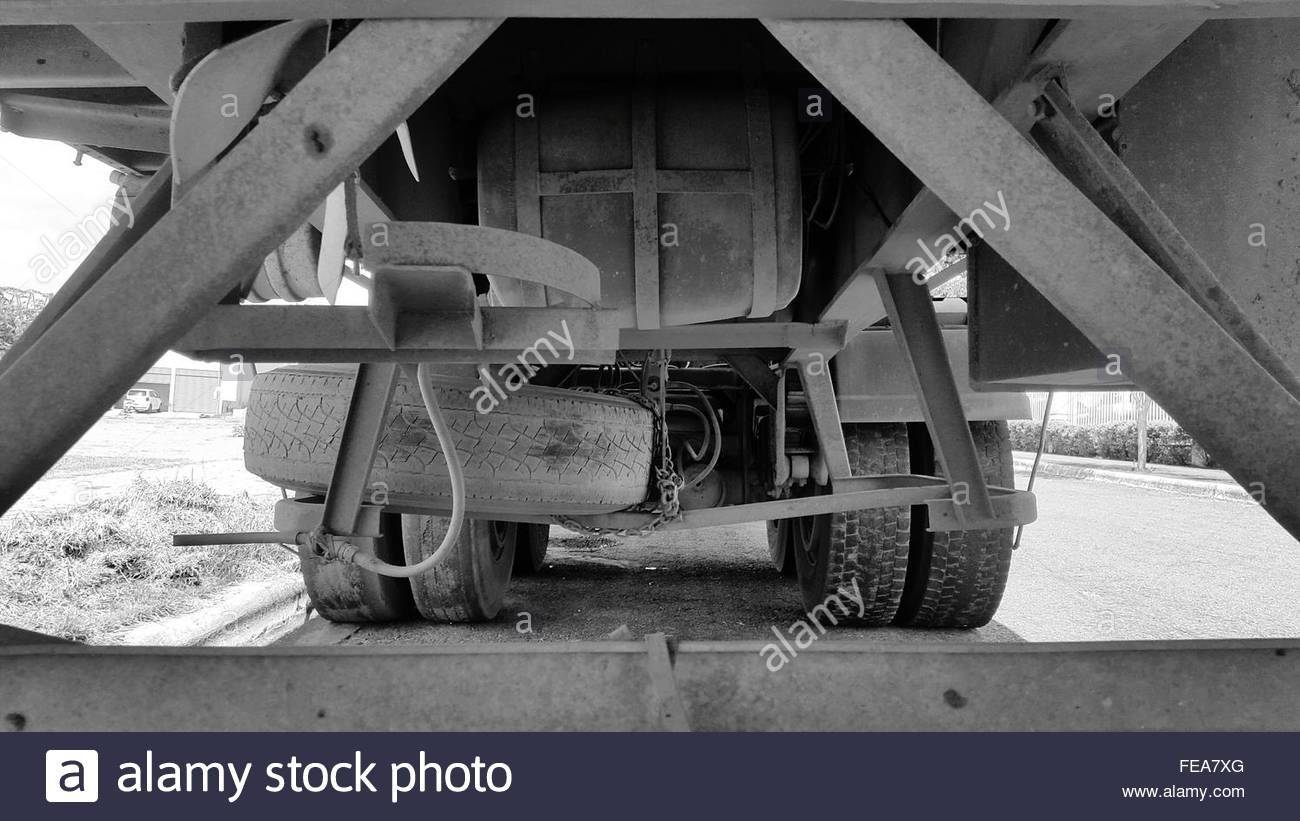 Under Chassis Stock Photos & Under Chassis Stock Images - Alamy regarding Yamal Wheeled Sideboards (Image 19 of 22)